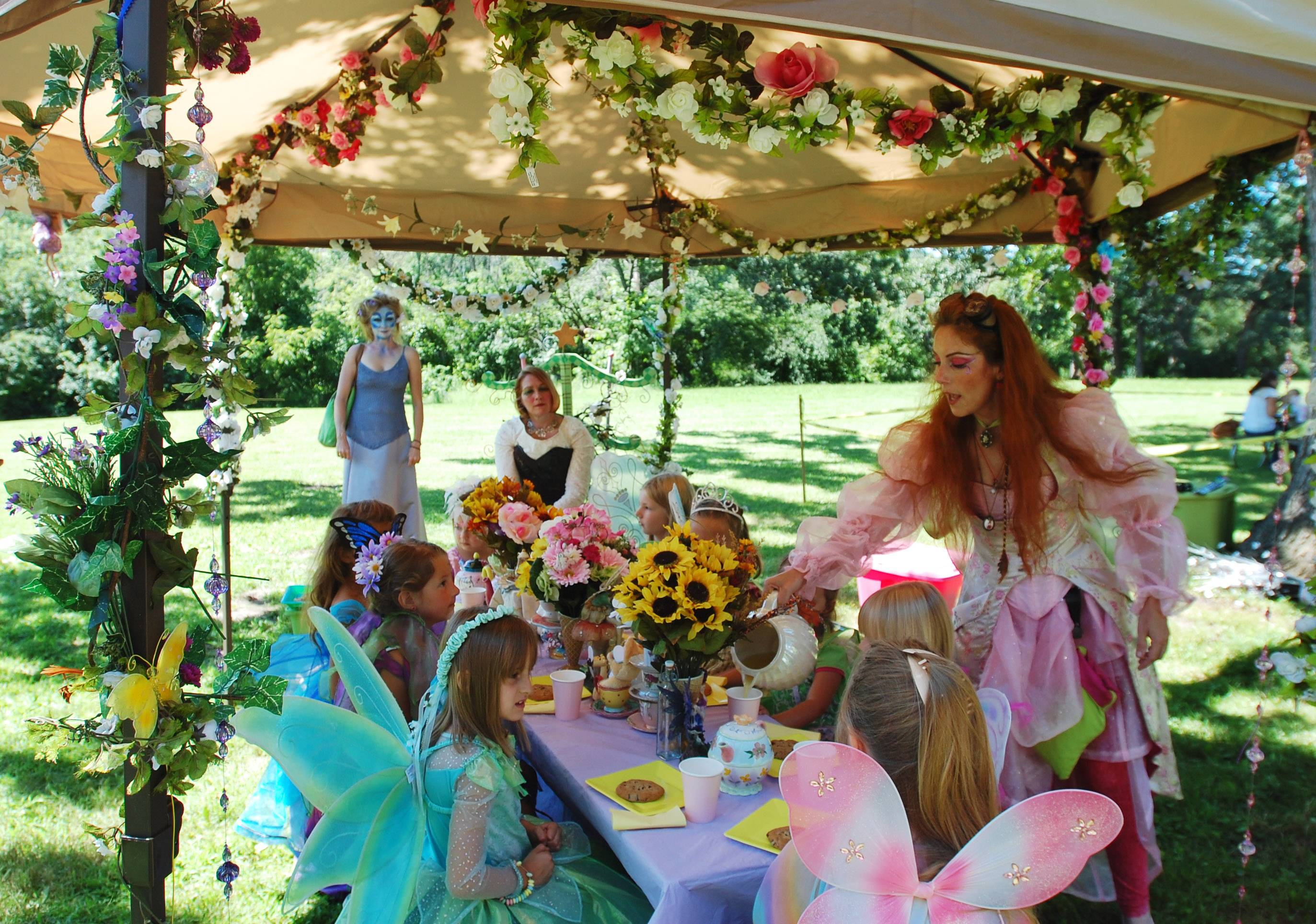 The World of Faeries Festival is Saturday and Sunday at Vasa Park in South Elgin. Last year, girls sat down for a faerie tea party where they snacked on cookies, listened to stories and sang songs.