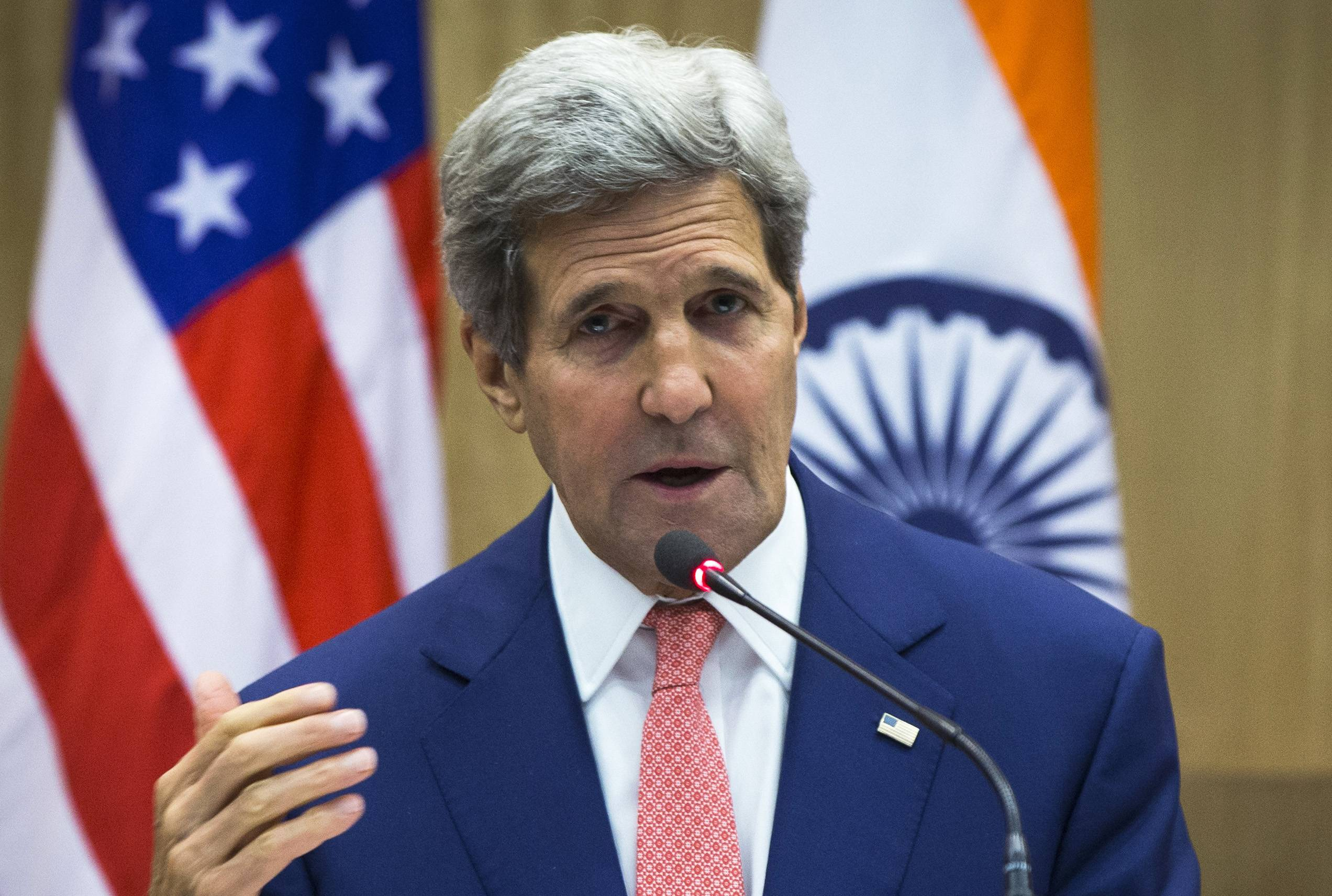 U.S. Secretary of State John Kerry made more than 100 calls over the last 10 days, including several dozen on Thursday alone, to broker a cease-fire plan to stop the bloodshed in the Gaza Strip.