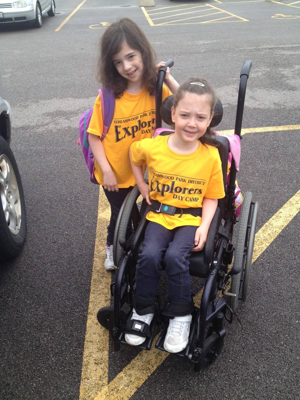 Riley's family hopes to raise $50,000 for a wheelchair-accessible van.