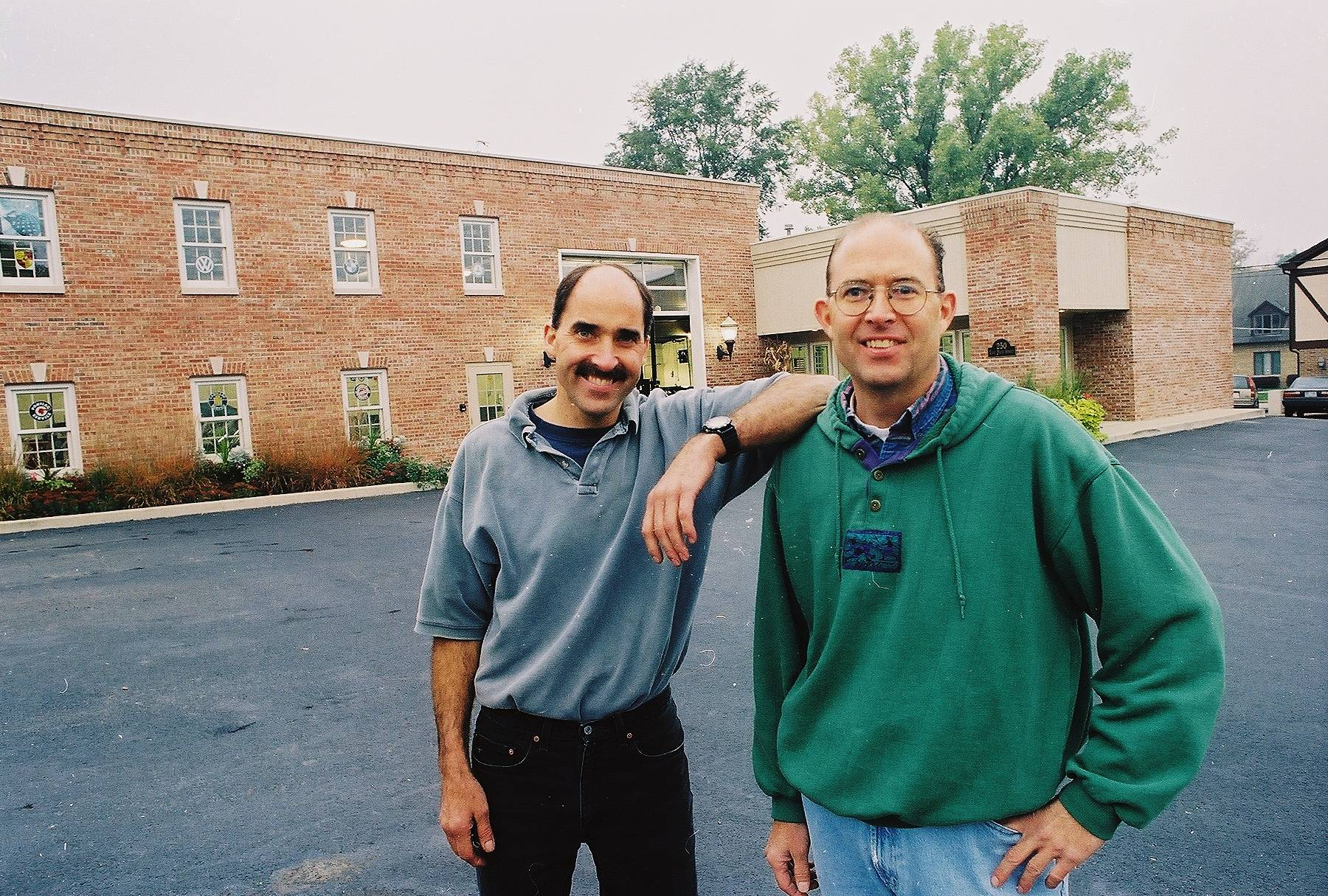 Twin Brothers Steve (left) and Dave Hollis have owned and operated Hollis Brothers Auto Repair since 1973 in downtown Barrington.