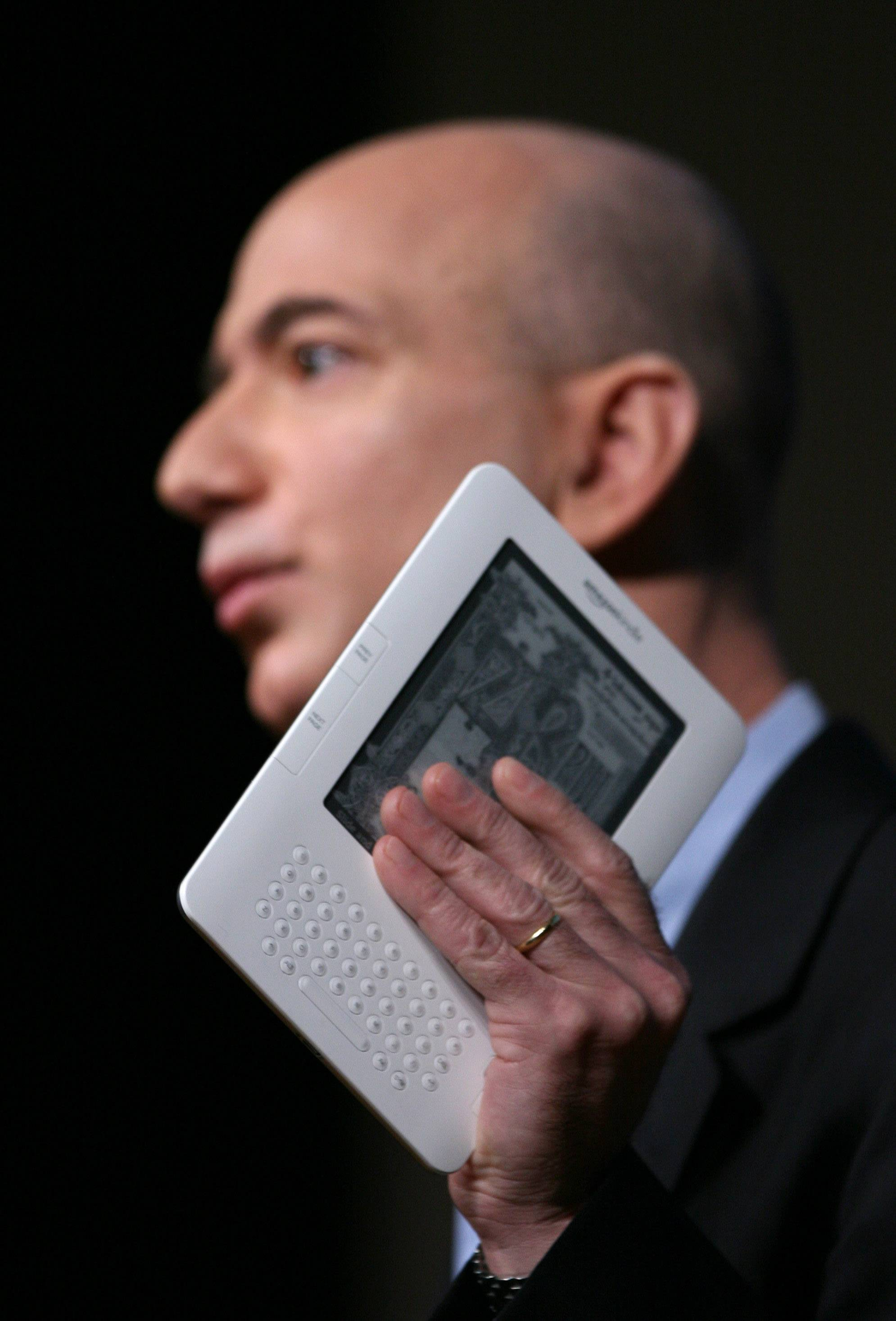 Jeff Bezos, chairman and CEO of Amazon.com.