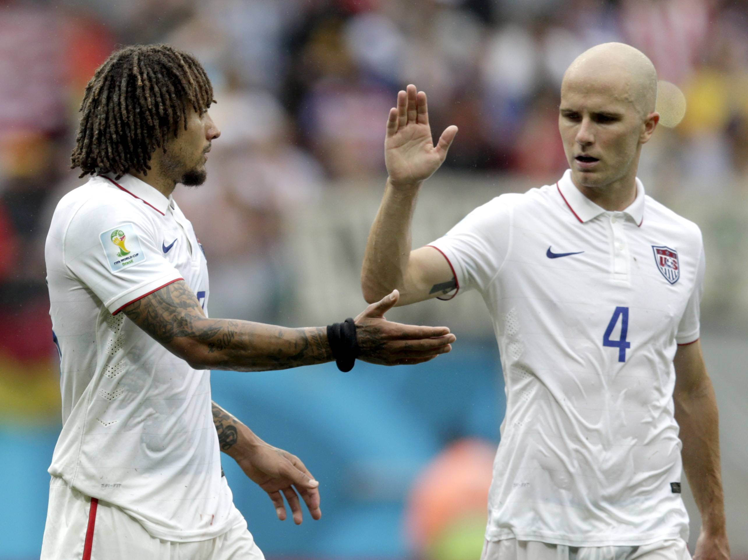 While the Fire may lose its bid to land World Cup player Jermaine Jones, at left with USA teammate Michael Bradley, the team is close to signing an Argentine forward, sources tell the Daily Herald.