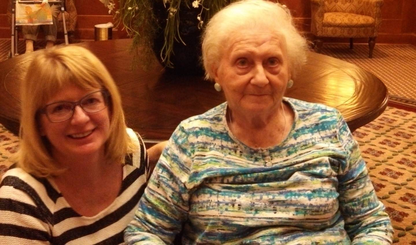 Joyce Rahn of Danville often drives to the Chicago area to help her siblings care for their mother, Edwardine Murphy of Des Plaines.