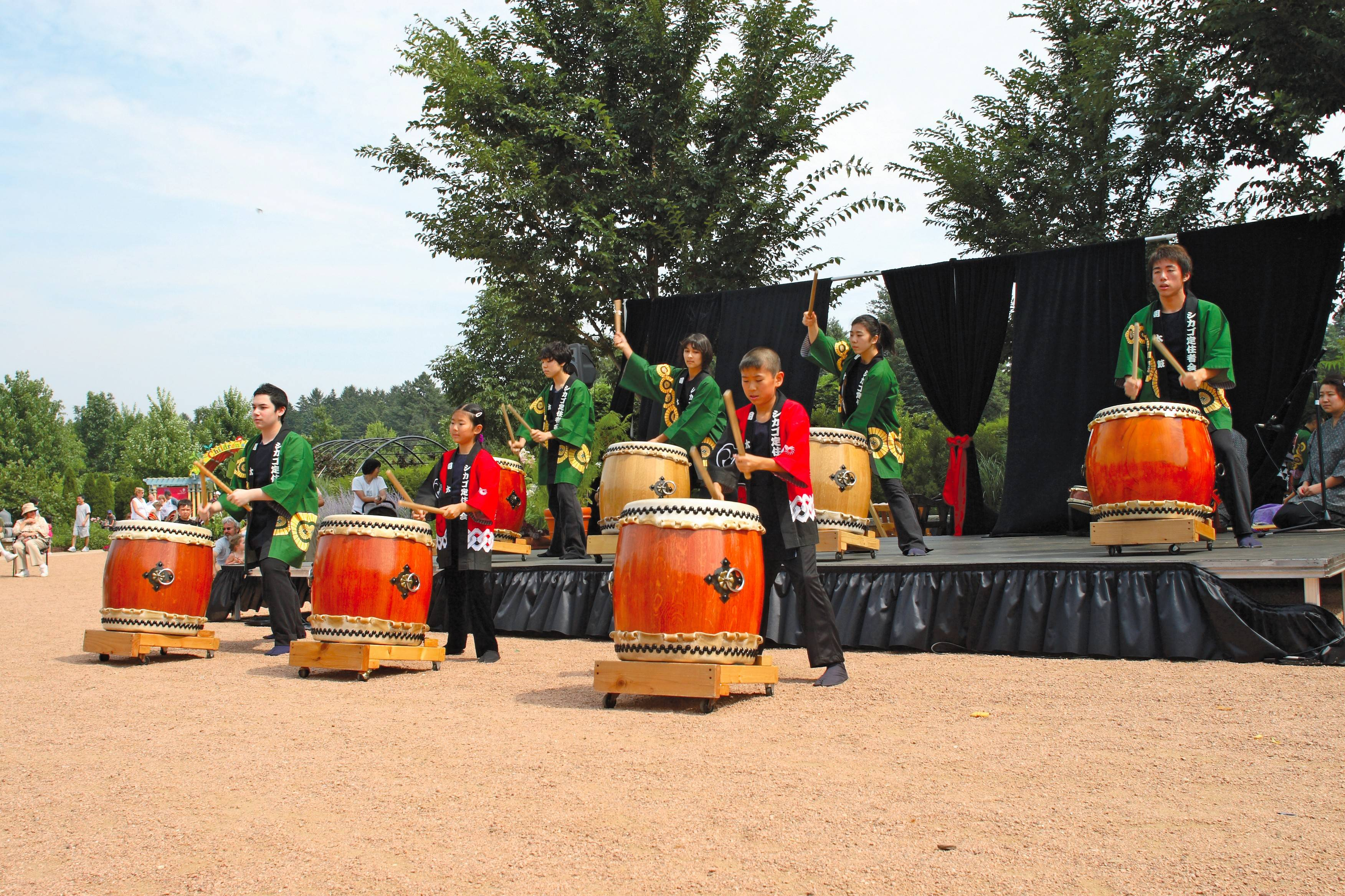 The Tsukasa Taiko Drummers are part of the mix for the Destination Asia Festival this weekend at the Morton Arboretum in Lisle.