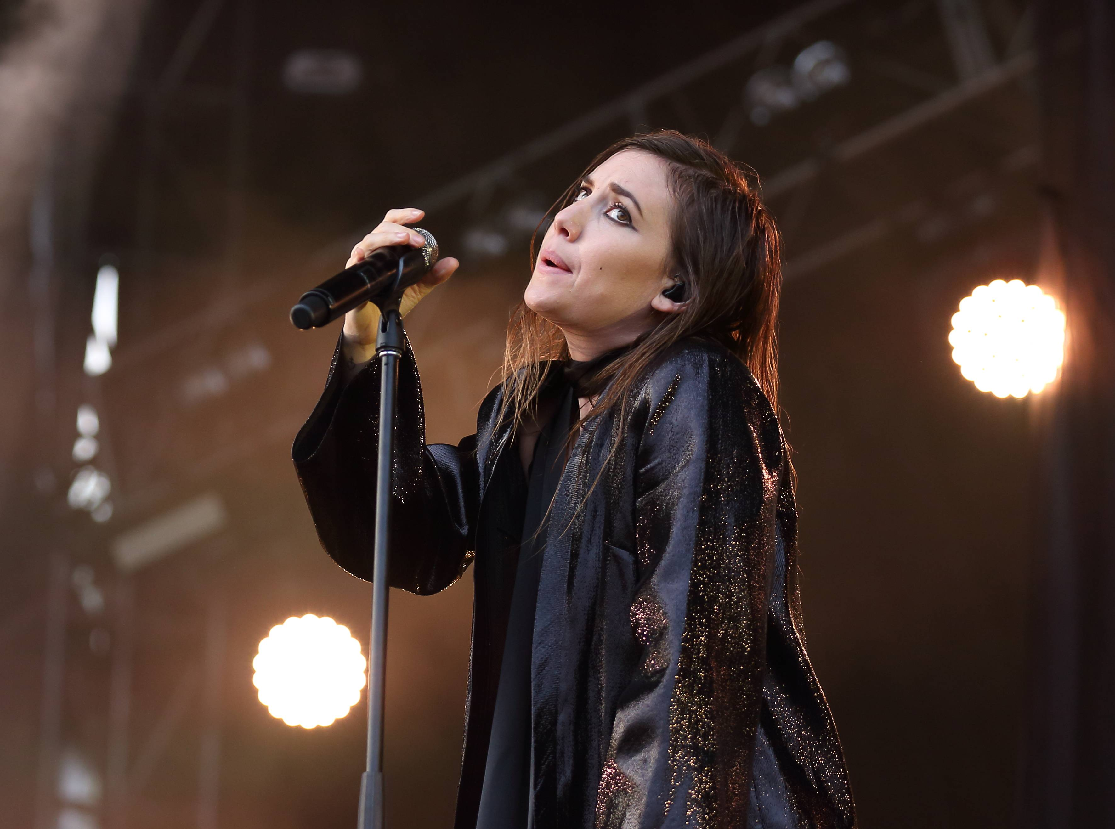 Lykke Li performs Friday at Lollapalooza in Chicago's Grant Park.