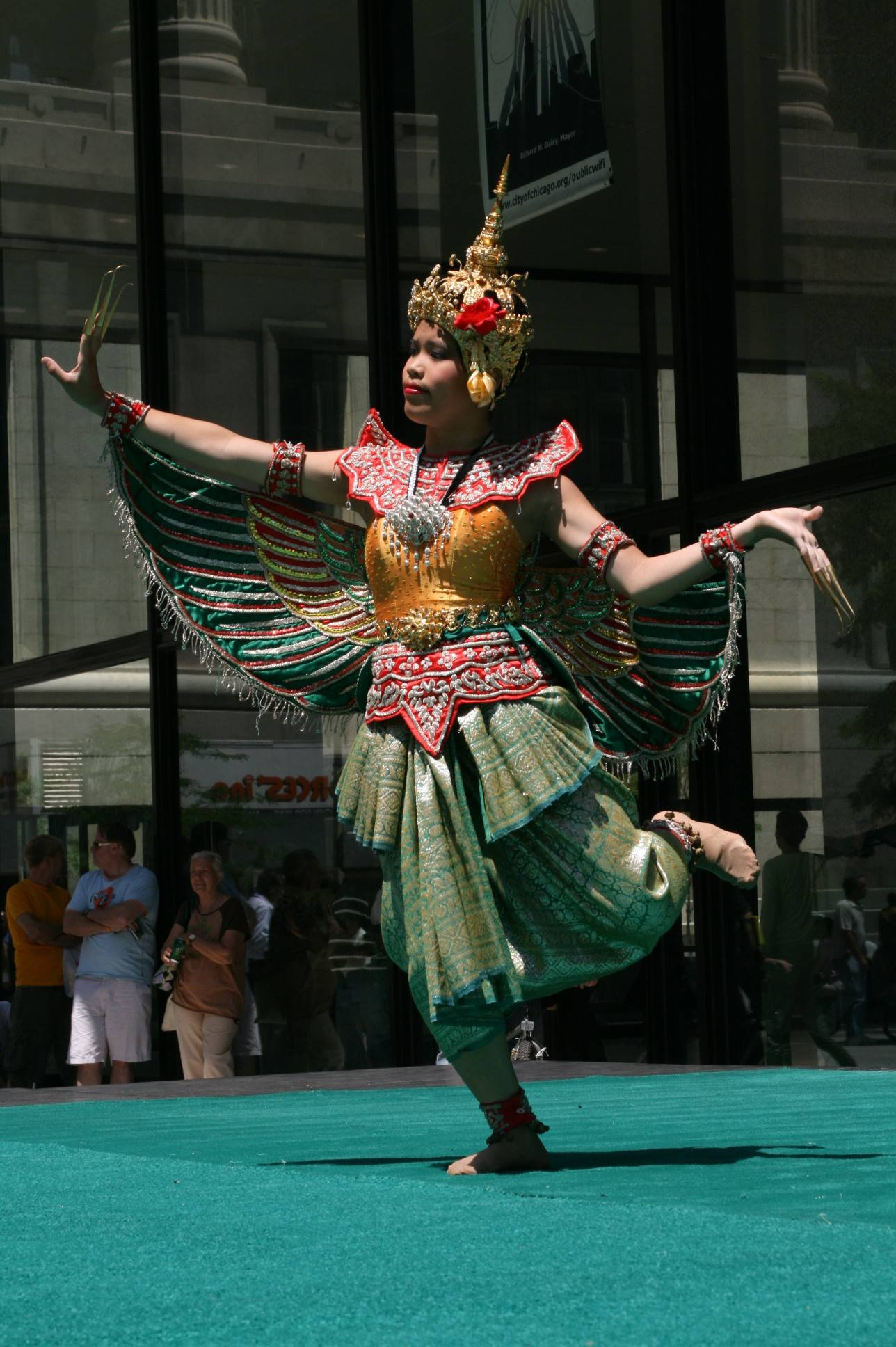 Traditional Thai dancers are part of the mix for the Destination Asia Festival this weekend at the Morton Arboretum in Lisle.