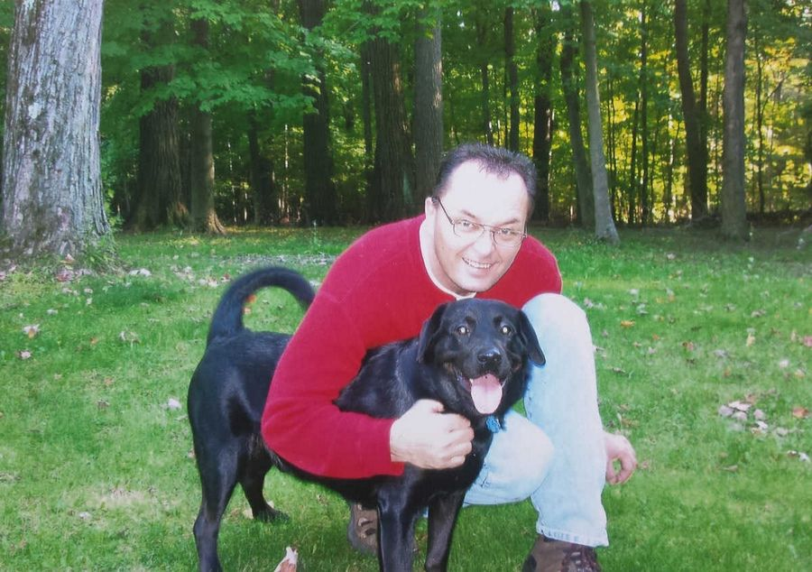 Paul Barthel of Carol Stream considers Pepper the black Labrador a member of his family. But now that he and his wife are in the process of divorce, he's learned pets are property in the eyes of the law and he has no rights to visitation.