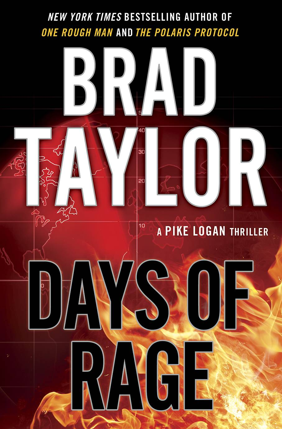 """Days of Rage"" by Brad Taylor"