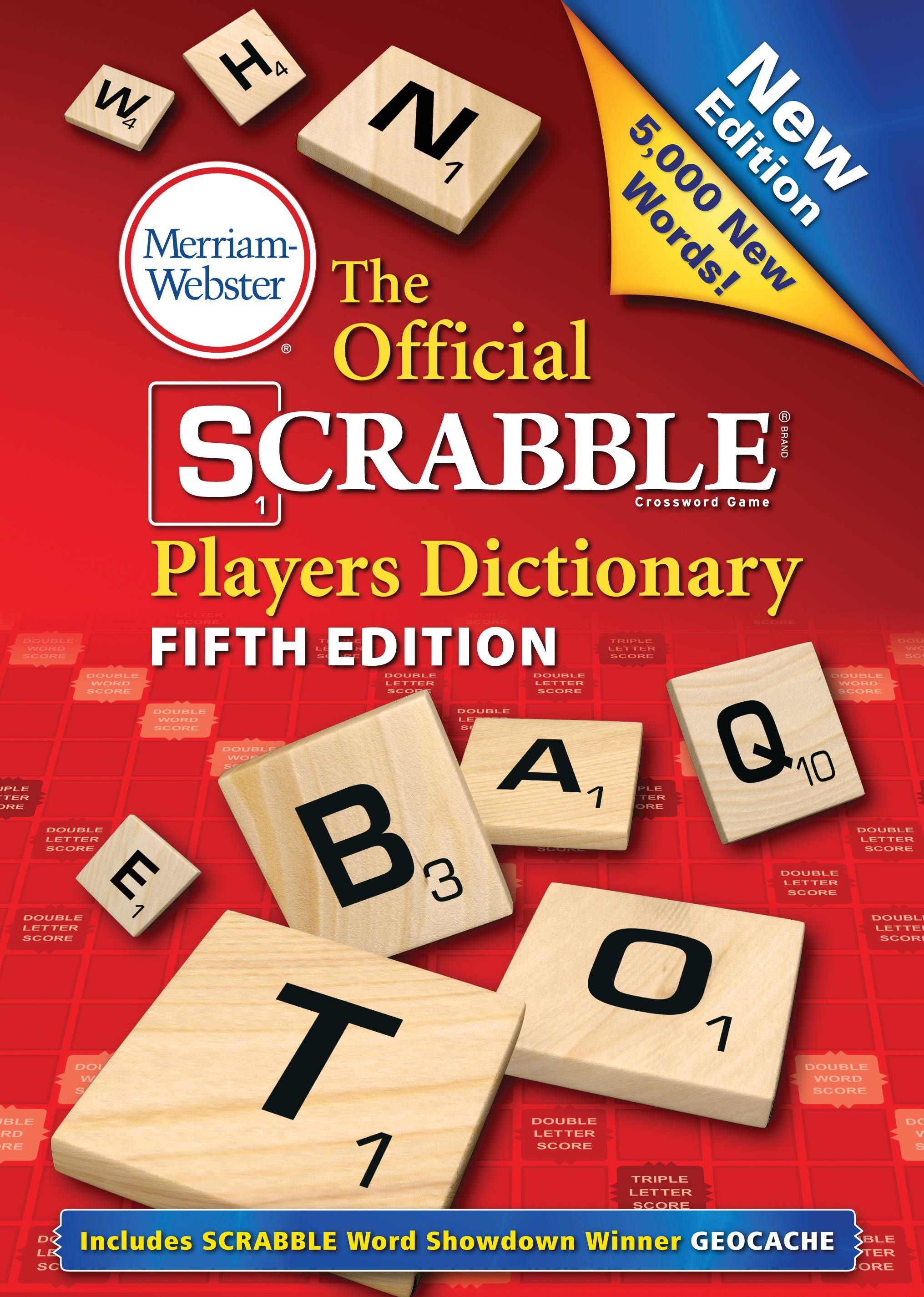 """The Official Scrabble Players Dictionary: Fifth Edition,"" out next Monday, has 5,000 new words."