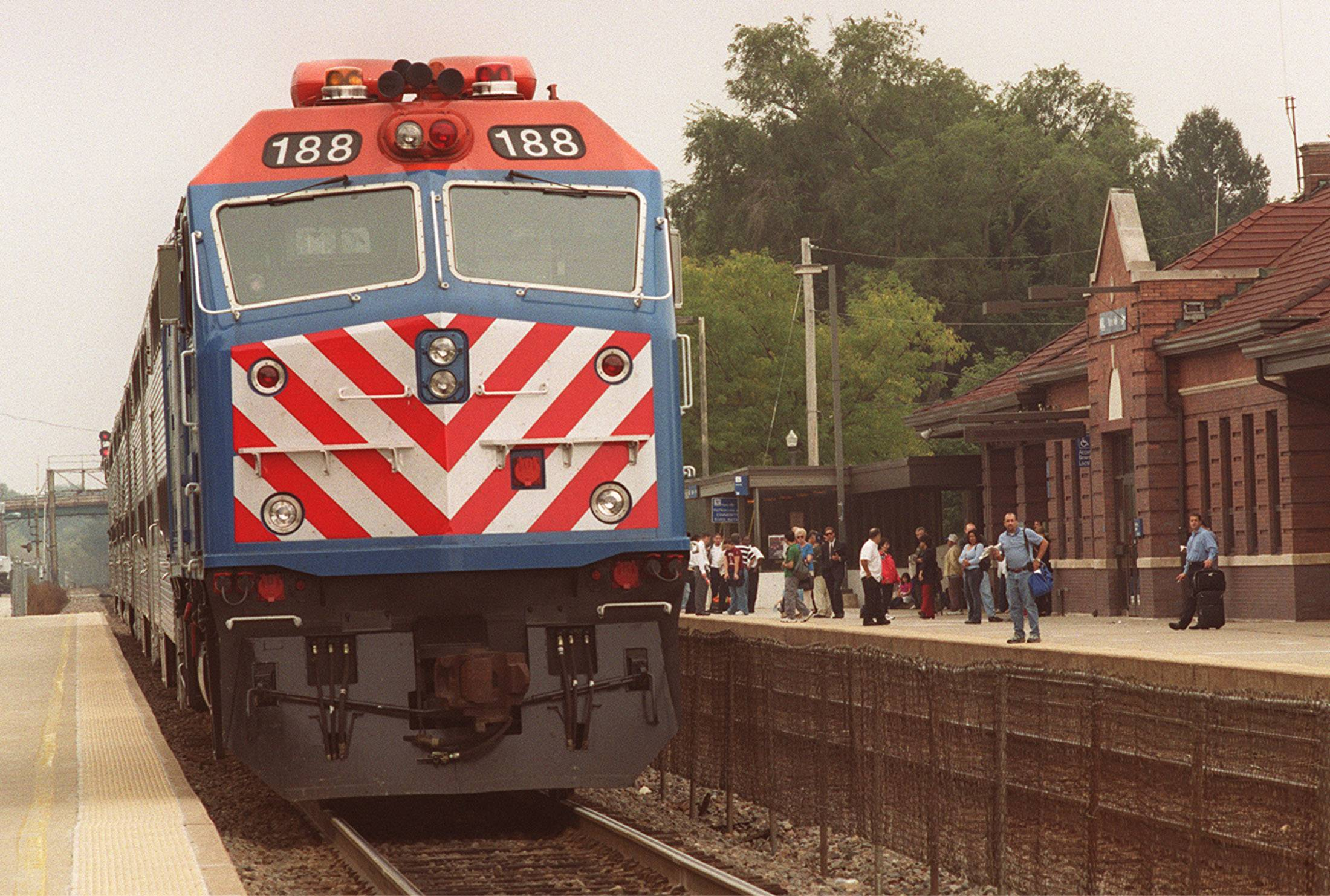 Metra opposed release of report on fake work logs