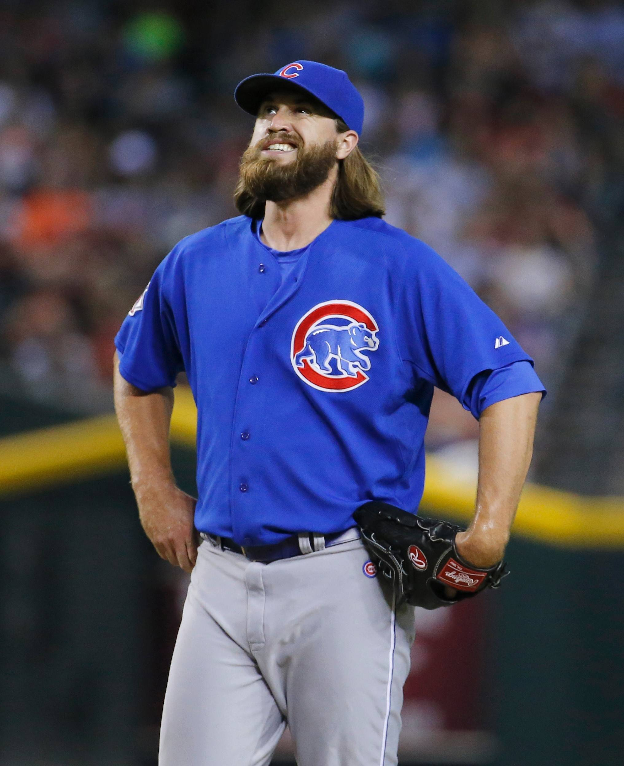 Cubs reliever Brian Schlitter entered Monday tied for 10th in the National League with 51 appearances.
