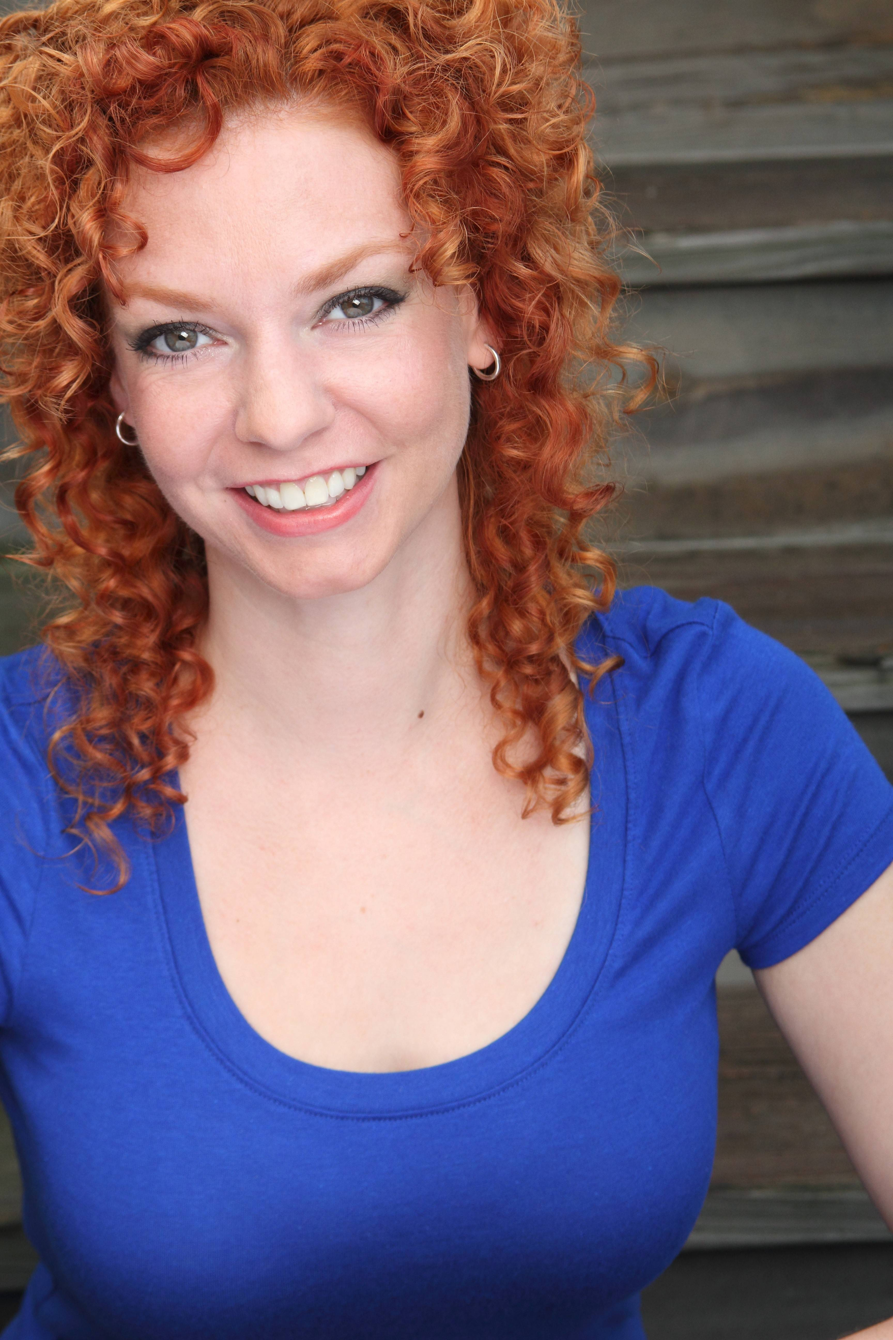 Naperville native and actress Colleen Miller credits her curly hair as one of her assets.