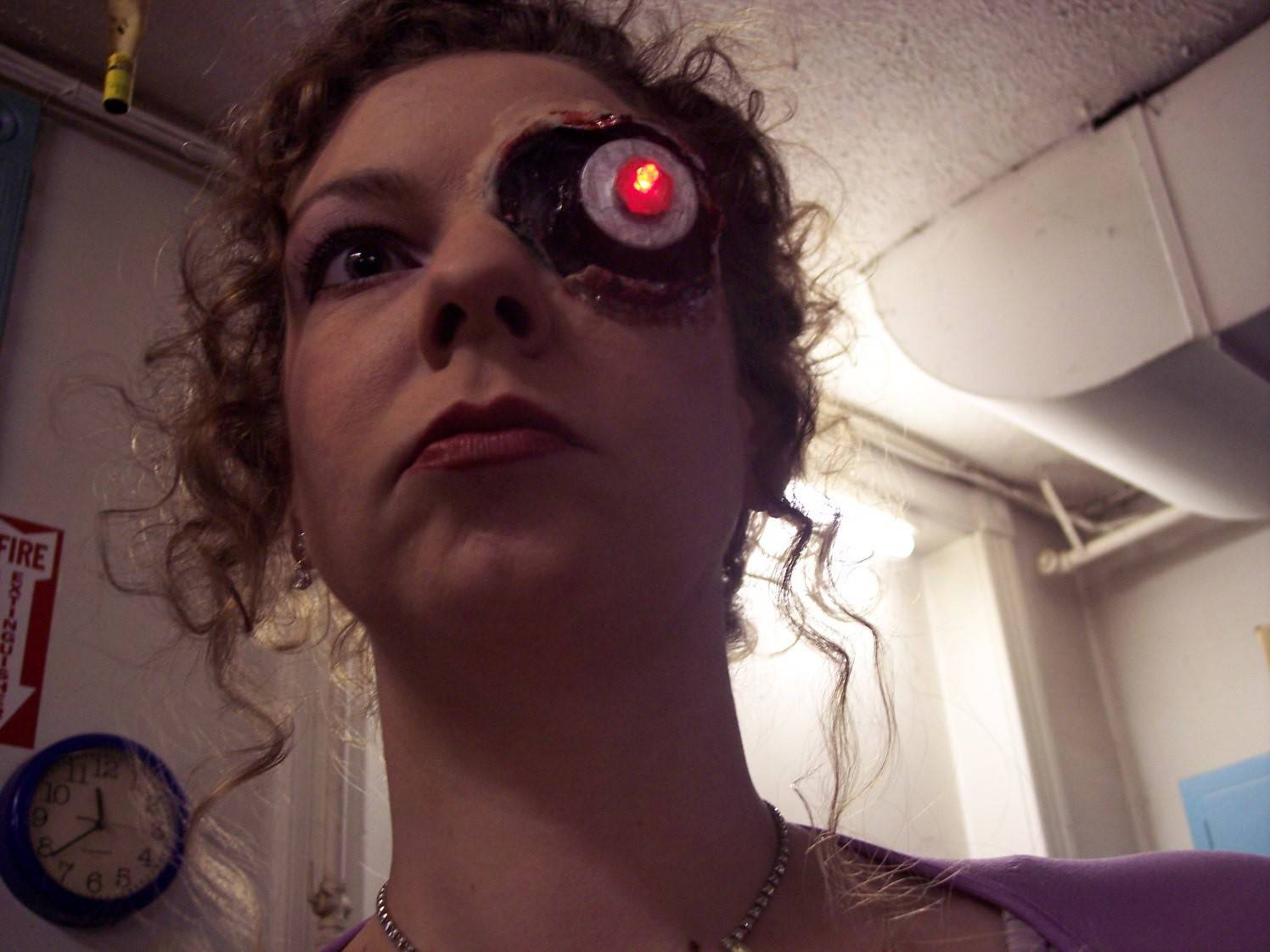 "Naperville native Colleen Miller starred in a Chicago play called ""The Determinator,"" playing a version of a high school terminator."