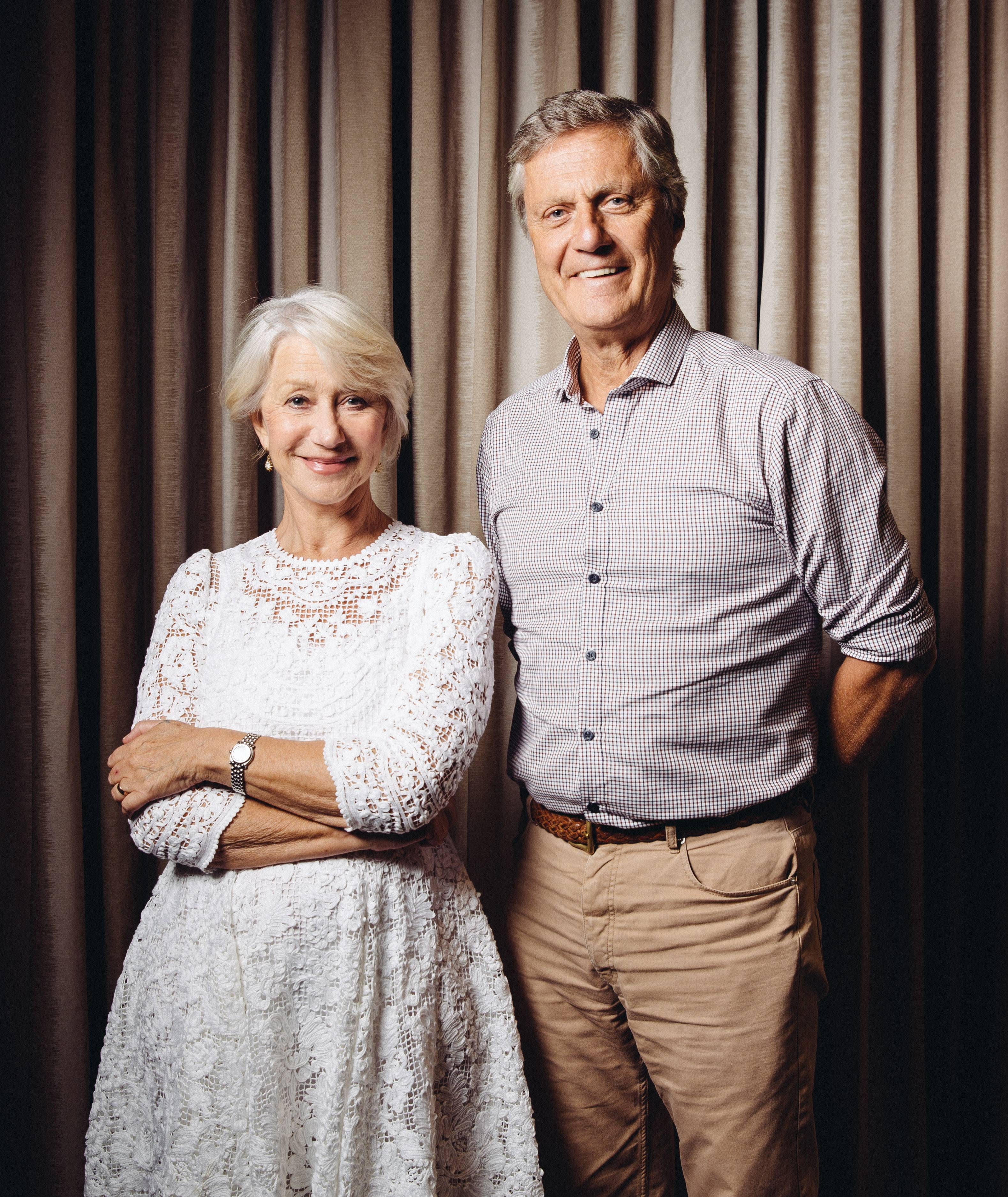 "Helen Mirren enjoyed working with director Lasse Hallstrom on ""The Hundred-Foot Journey."""