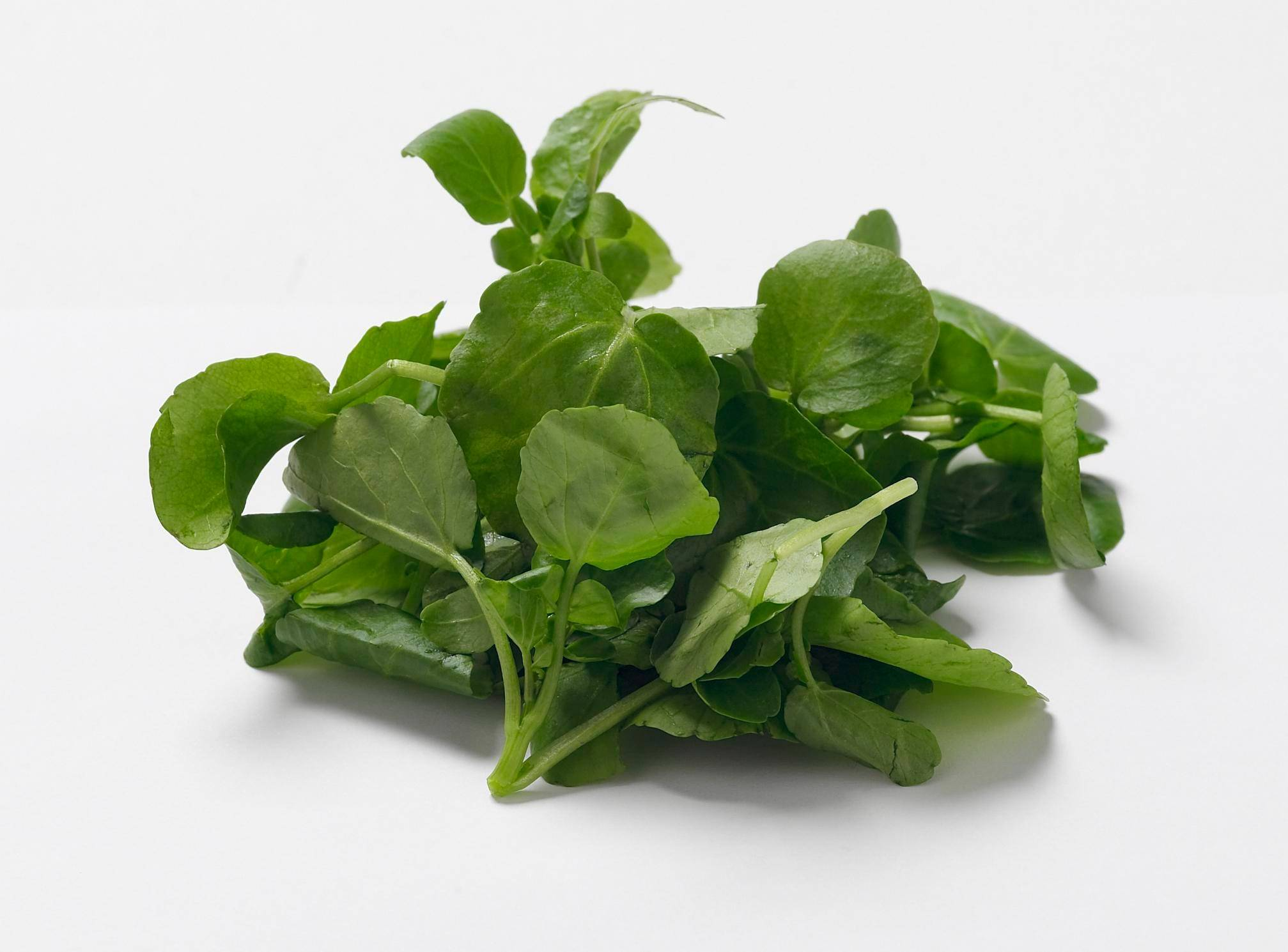 Watercress packs a huge dose of vitamins and minerals.