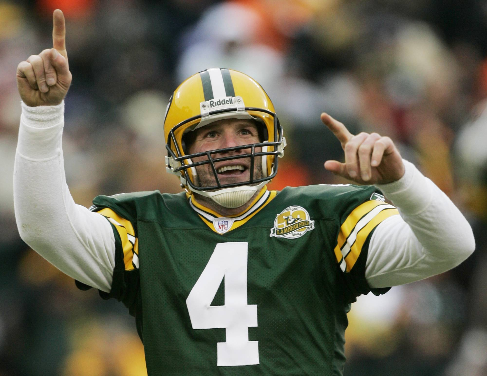 Former Packers quarterback Brett Favre wrote on his official website that it will be an honor to have his name placed among others such Bart Starr, Curly Lambeau, Ray Nitschke and Vince Lombardi, to name a few.