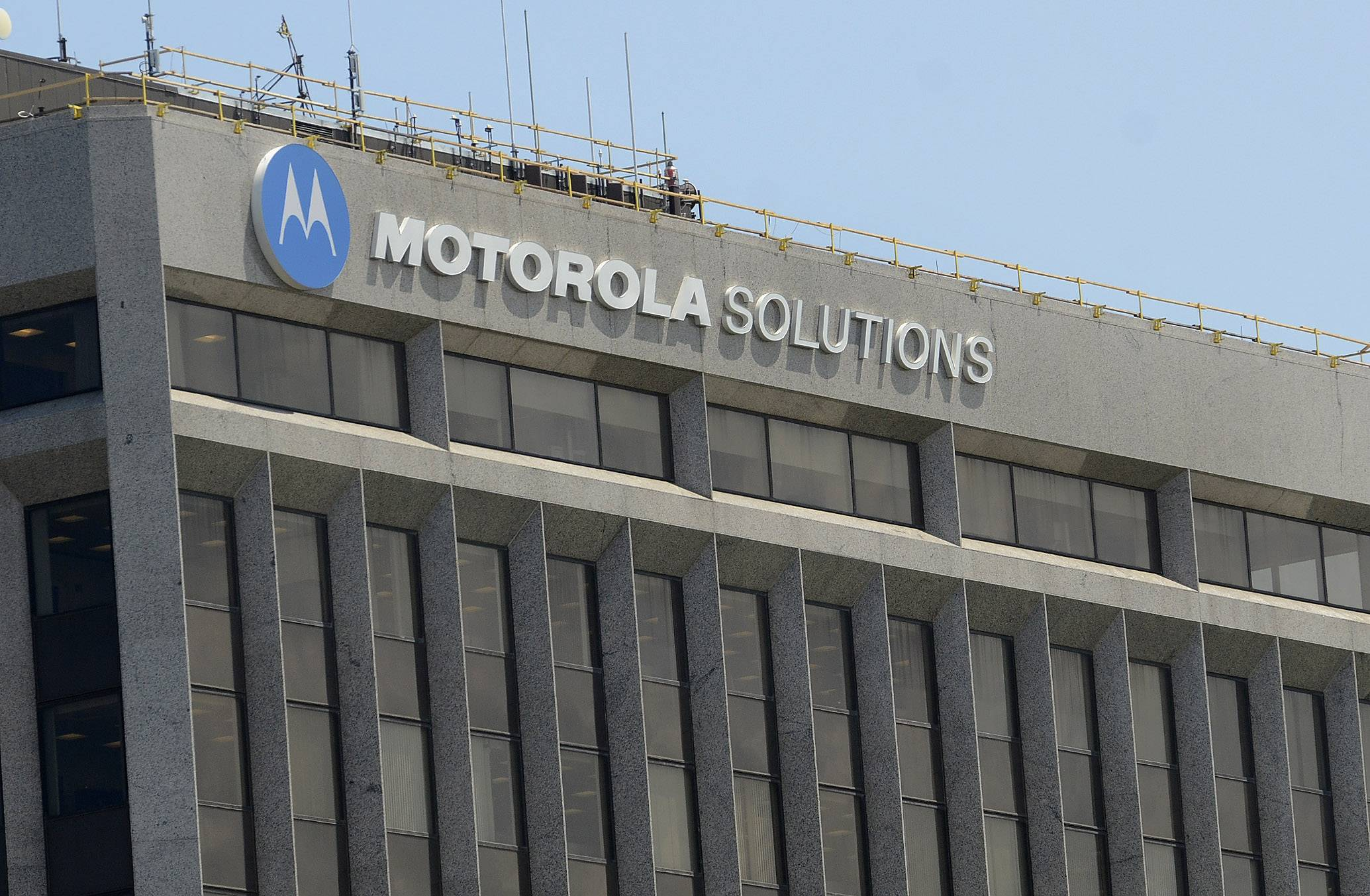 Despite profit, Motorola Solutions plans more layoffs, smaller campus
