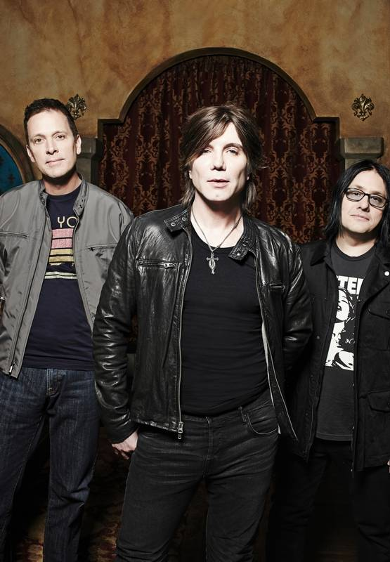 Associated PressThe Goo Goo Dolls perform on the same bill with Daughtry and Plain White T's at FirstMerit Bank Pavilion in Chicago on Sunday, Aug. 10.