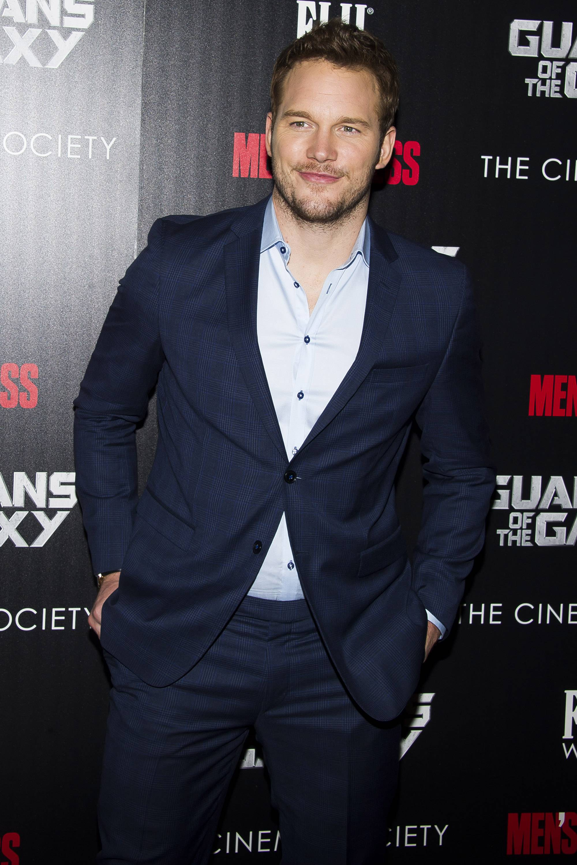 "Chris Pratt attends a screening of ""Guardians of the Galaxy"" in New York. Is he ready to be a leading man?"