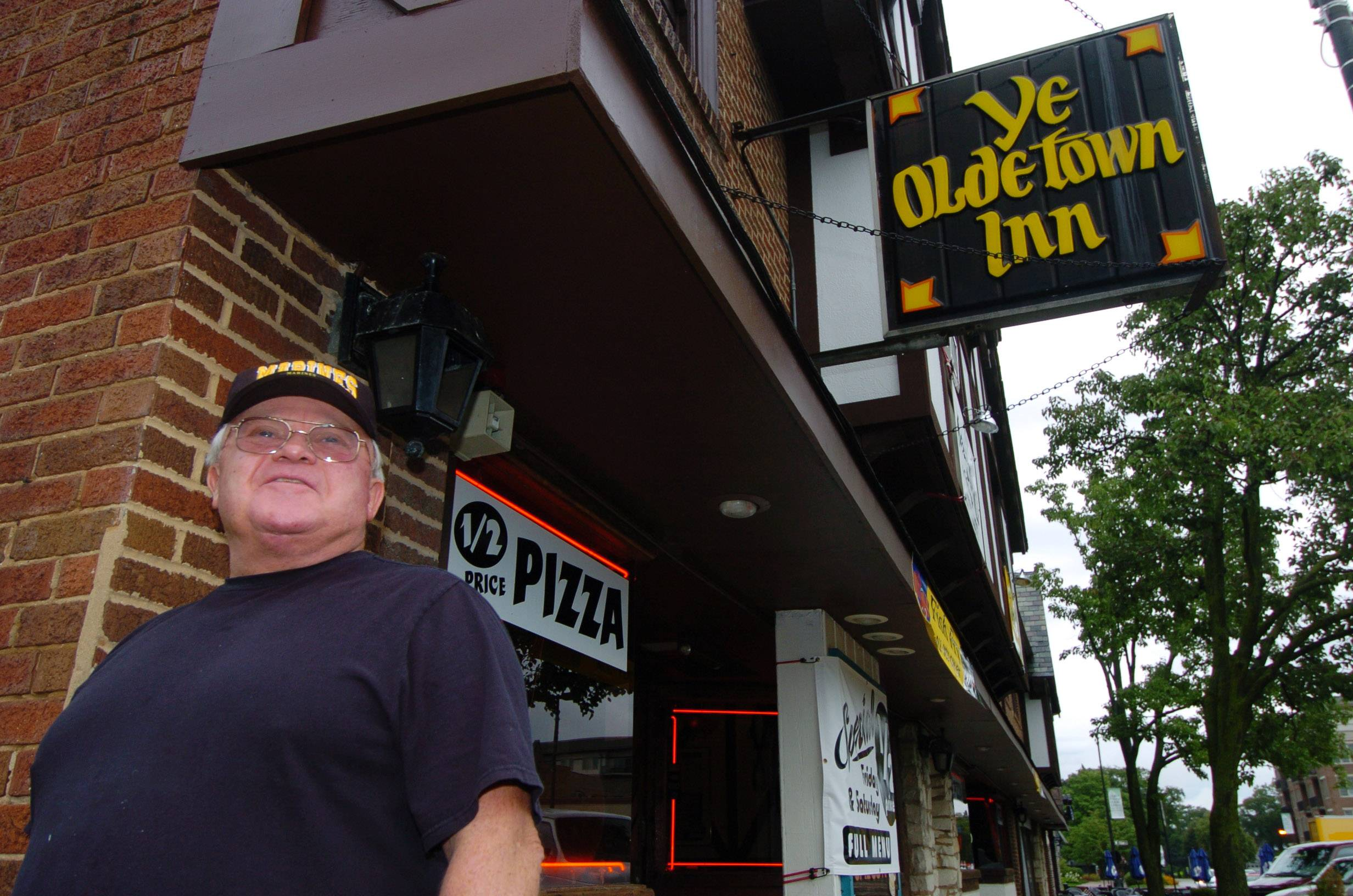 Tod Curtis, owner of Ye Olde Town Inn in Mount Prospect, filed a racketeering lawsuit alleging the village and a developer conspired to seize his property.