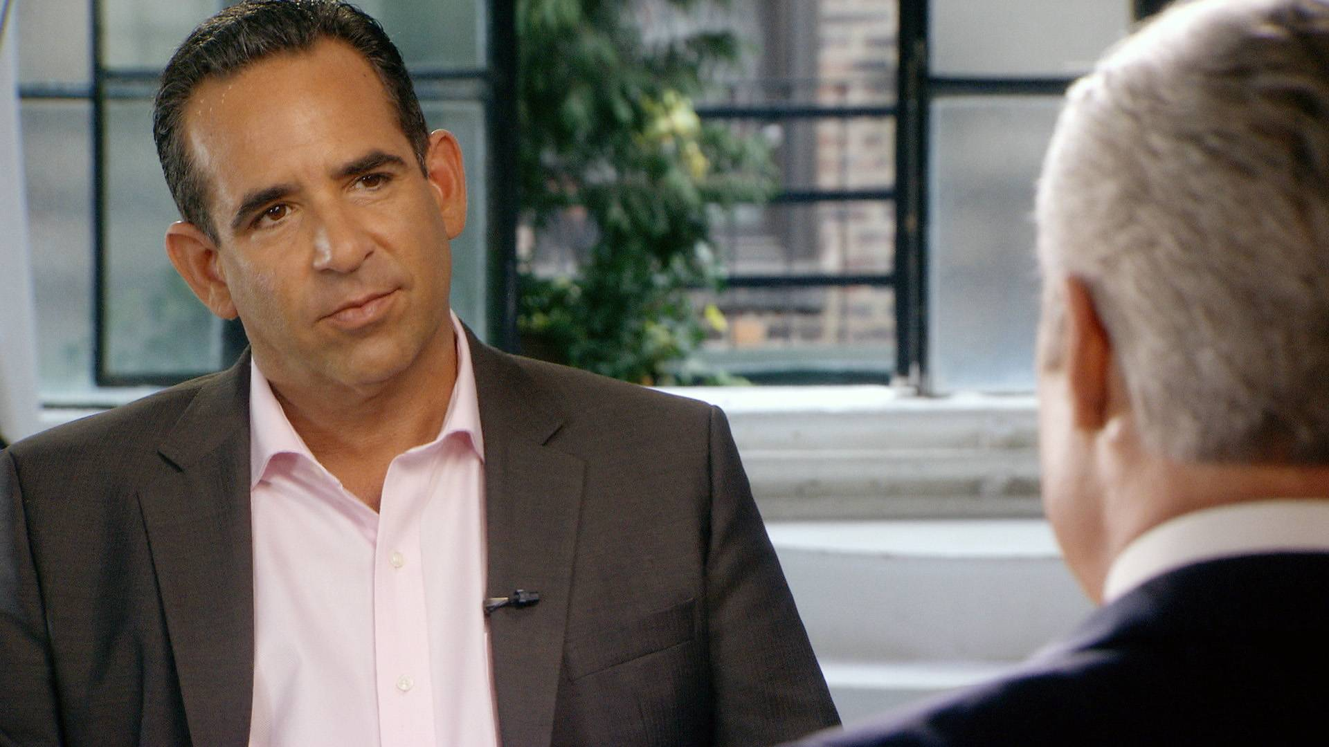 Biogenesis founder Anthony Bosch, left, talks with 60 Minutes correspondent Scott Pelley. Federal authorities are charging the owner of a defunct Florida clinic accused of providing steroids and other banned substances to Major League Baseball players, including New York Yankees star Alex Rodriguez.