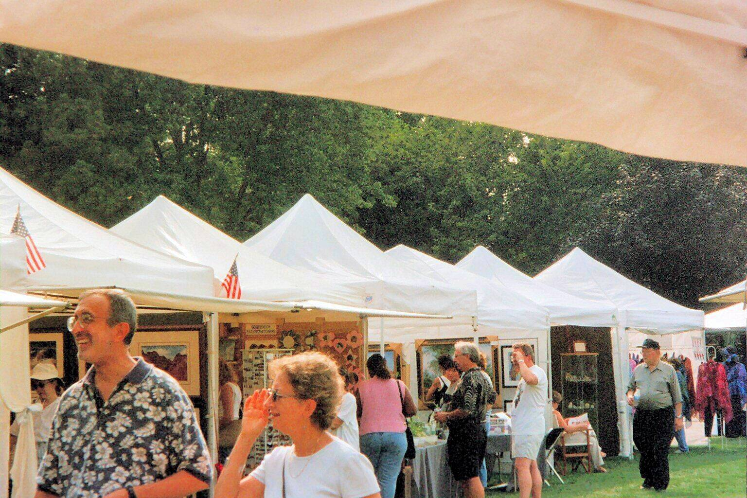 Artists & Crafts artists will fill Socoville Park in Oak Park with work they themselves created during the 40th Annual Oak ark Ave-Lake Arts & Crafts Show August 16-17American Society of Artists