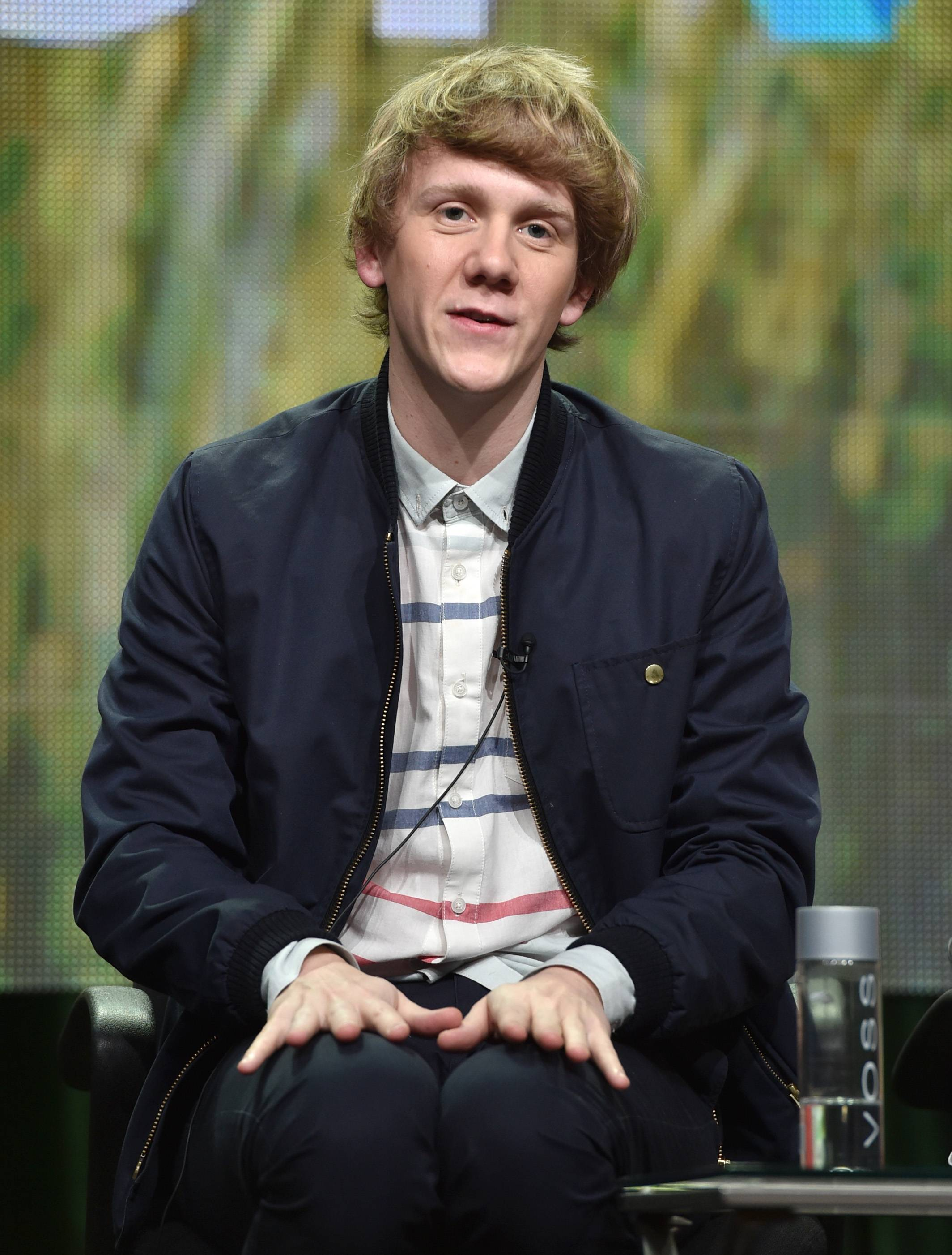 "Australian comedian Josh Thomas, 27, creator, writer and star of ""Please Like Me,"" speaks at the Pivot panel during the Summer TCAs. His half-hour comedy-drama begins a 10-episode sophomore season on the Pivot network at 9:30 p.m. Friday."