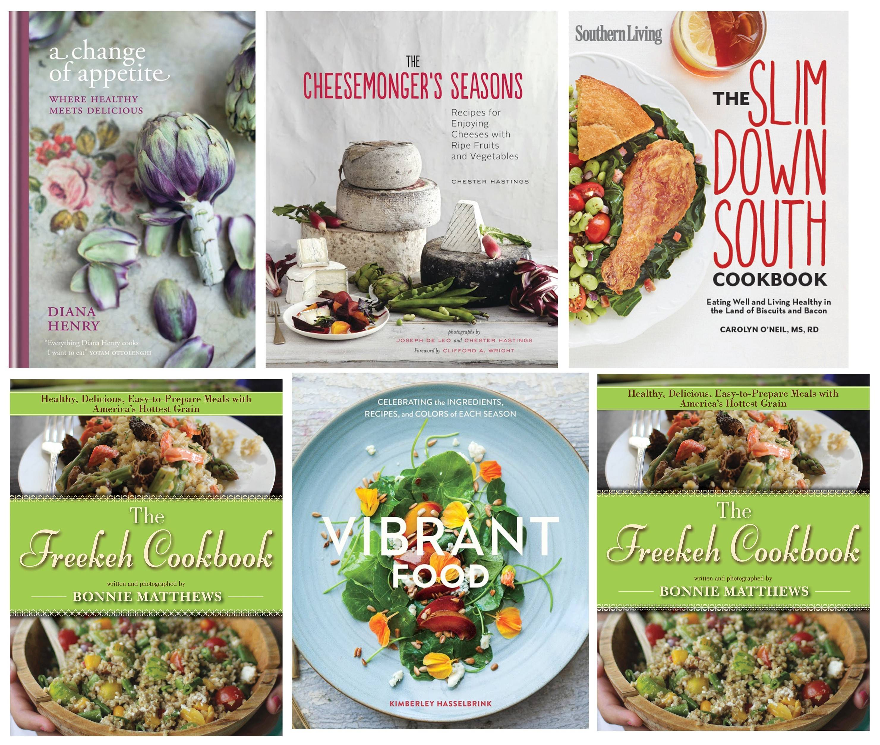 Looking for a fun summer read? Consider any of these cookbooks.