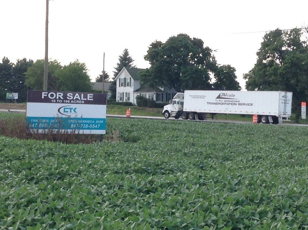 Grayslake annexes land, gives approvals for truck terminal