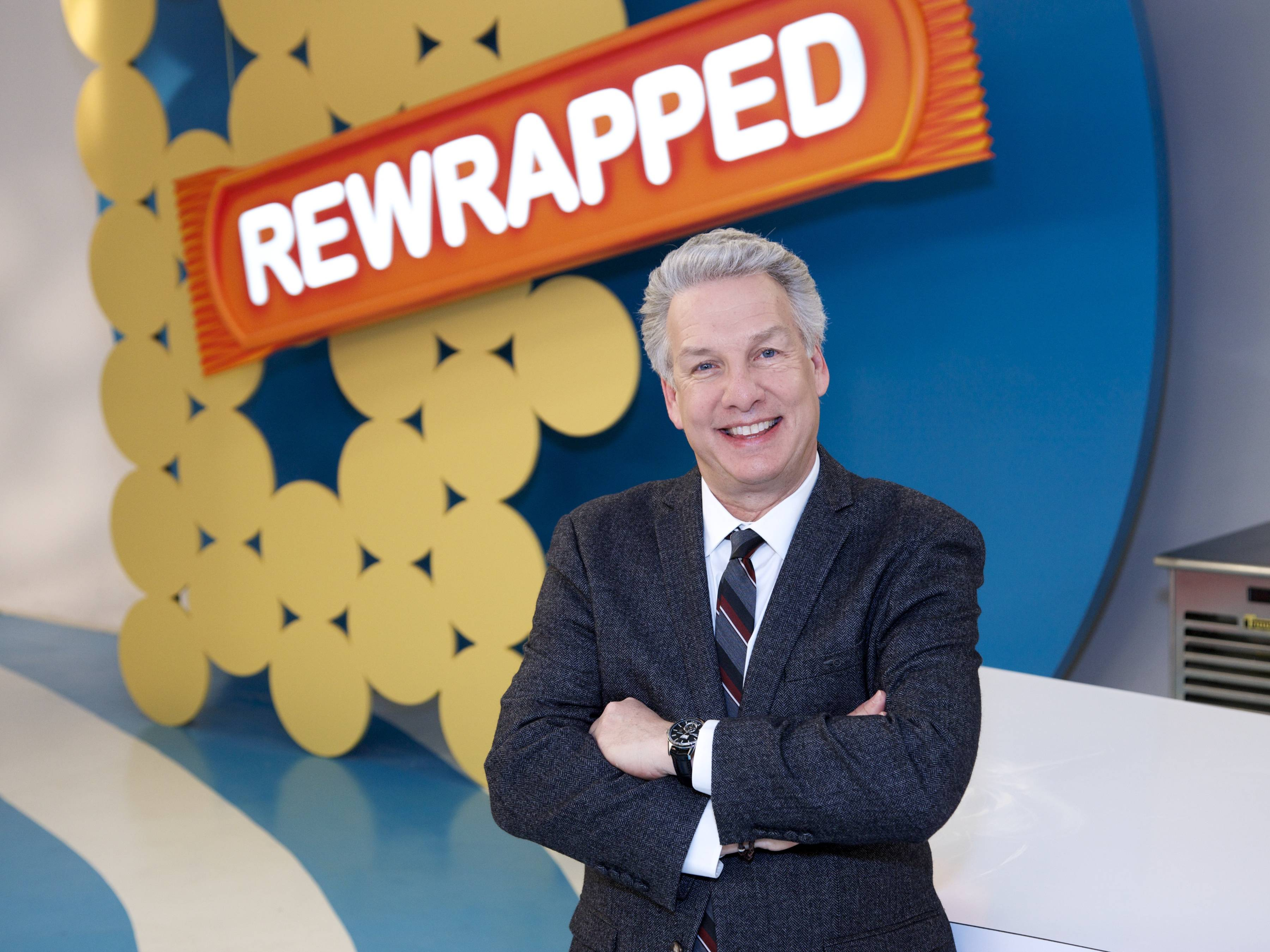 "Marc Summers heads up the judging panel each week on Food Network's ""Rewrapped,"" which returns for a second season next month."