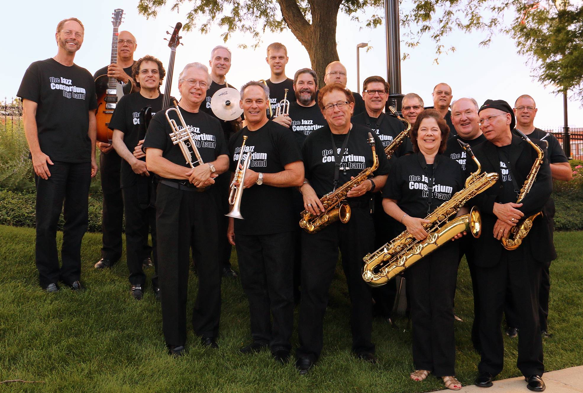 The 17-piece Jazz Consortium Big Band appears Sunday at Durty Nellie's.Doug Fulford