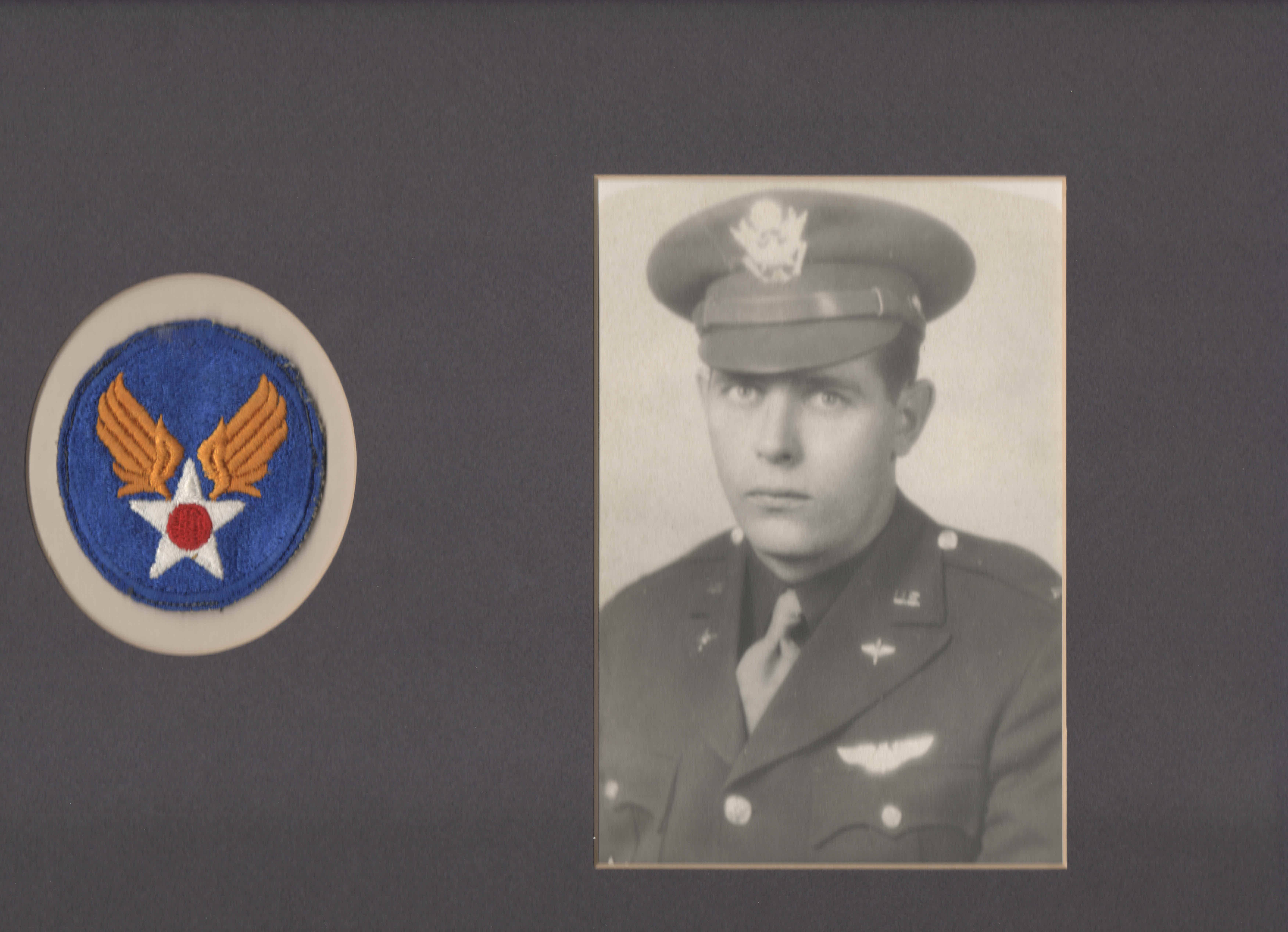 "This image shows 1st Lt. William ""Laddie"" Bernier, whose remains have been identified and will be returned to family members 70 years after his B-24 bomber was shot down over Papua New Guinea during World War II. Bernier was the bombardier, stationed in a glass cockpit in the aircraft's nose and responsible for sighting and releasing its bombs."