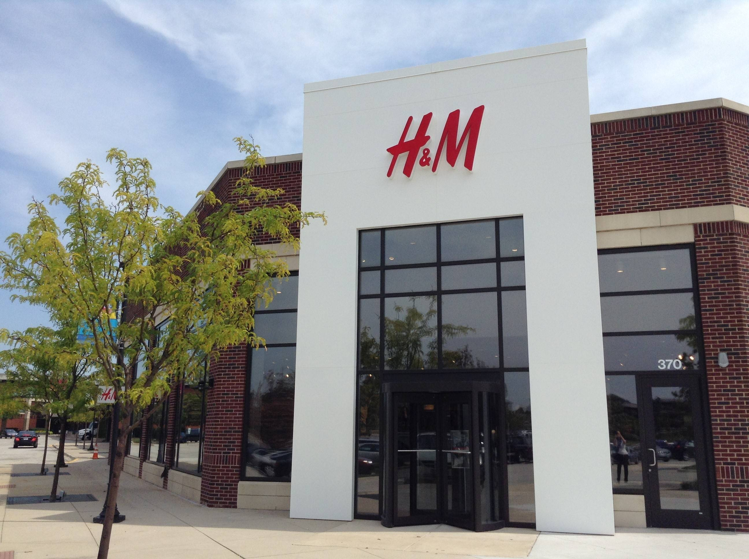 A new H&M store opened Thursday at Yorktown Center in Lombard.