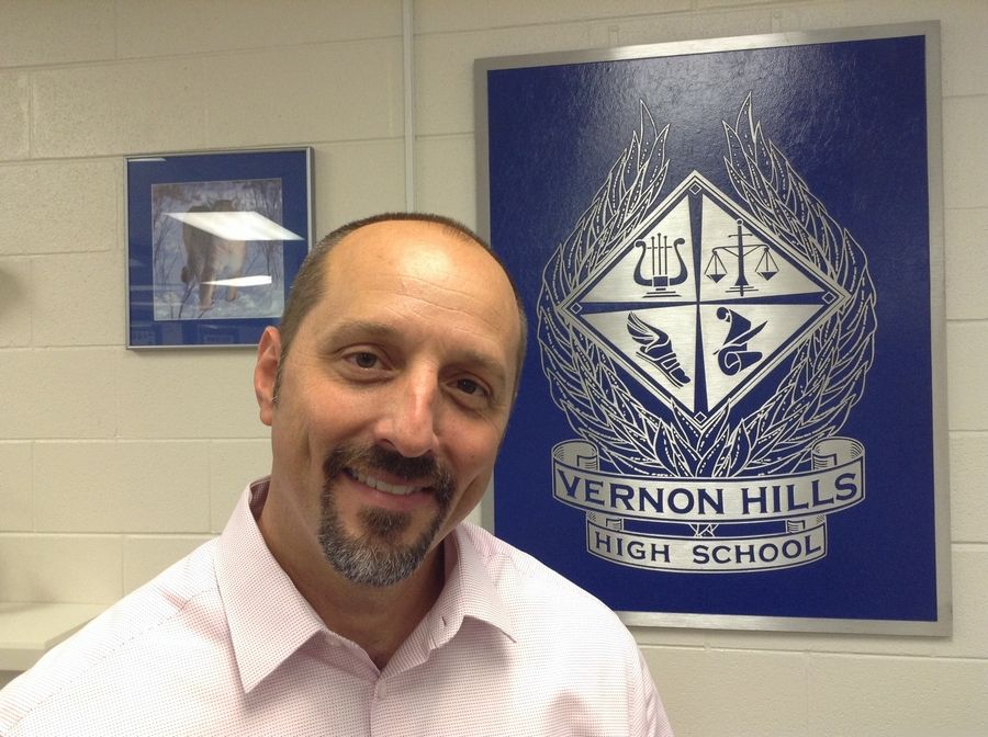 Jon Guillaume took over as Vernon Hills High School's principal July 1.