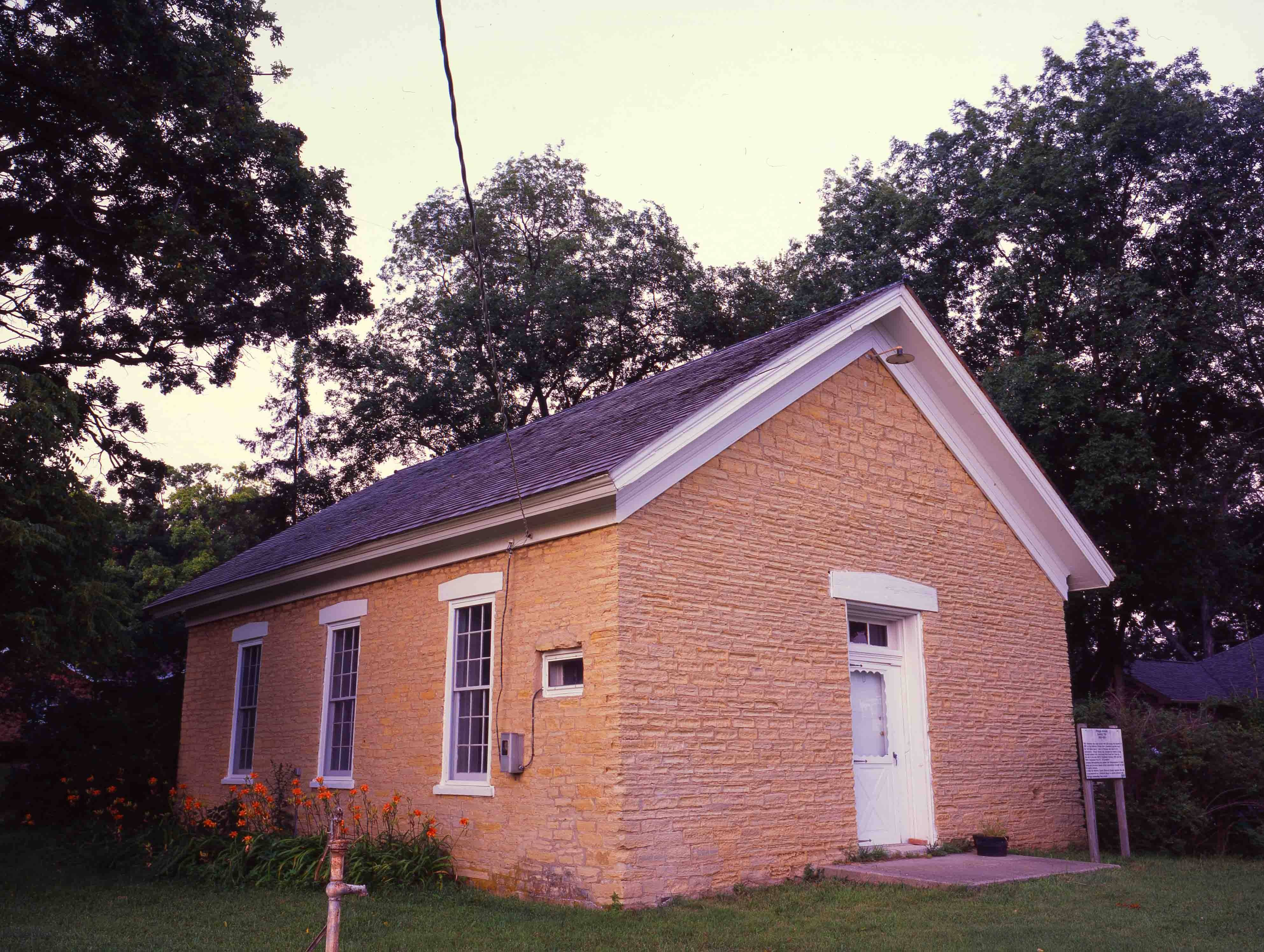 Stop by Saturday during the open house of the 1867 limestone Pringle one-room schoolhouse. Then take a short stroll to the pre-Civil War Stewart's Scottish Cemetery.