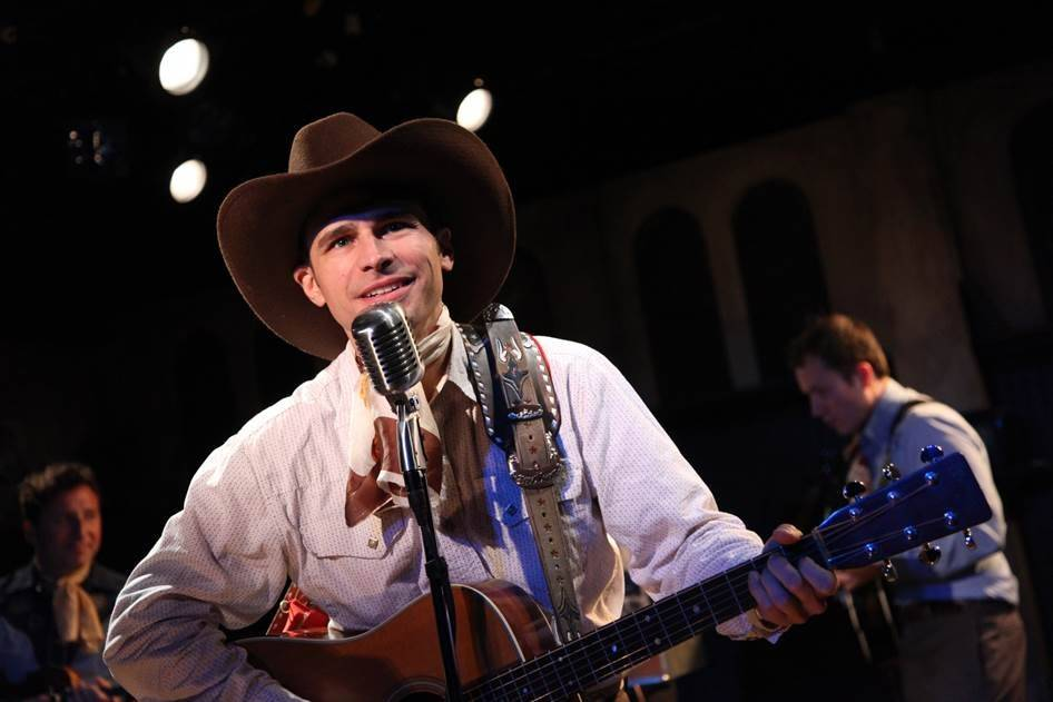 "Matthew Brumlow reprises his role as the pioneering country singer/songwriter Hank Williams in American Blues Theater's remount of its hit 2013 show, ""Hank Williams: Lost Highway."""