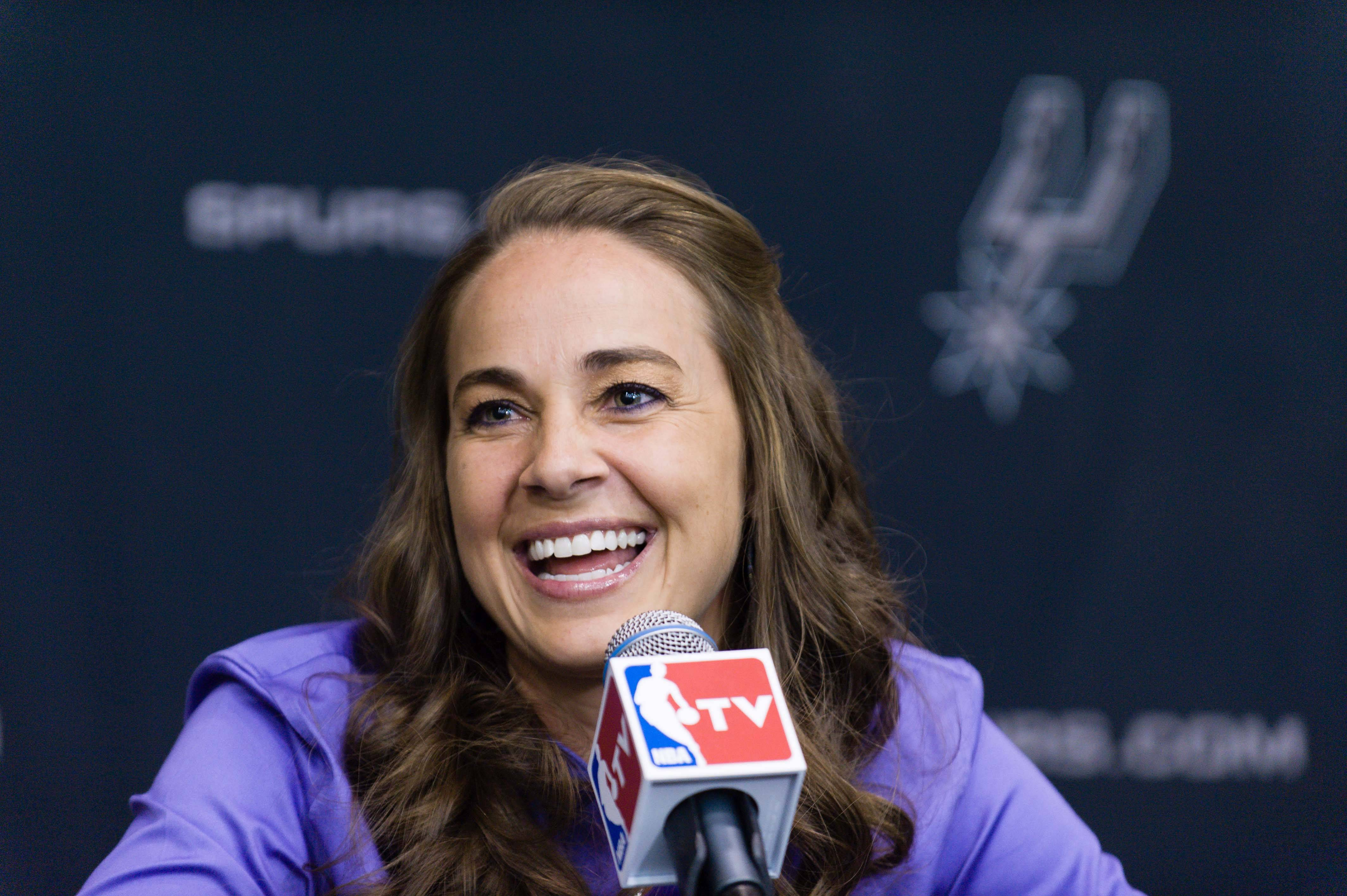 When WNBA star Becky Hammon was named an assistant with the San Antonio Spurs on Tuesday and became the first woman in history to join an NBA coaching staff on a full-time basis, some negative comments attached to the online stories about Hammon were so typical that they're well beyond cliché, according to Patricia Babcock McGraw.