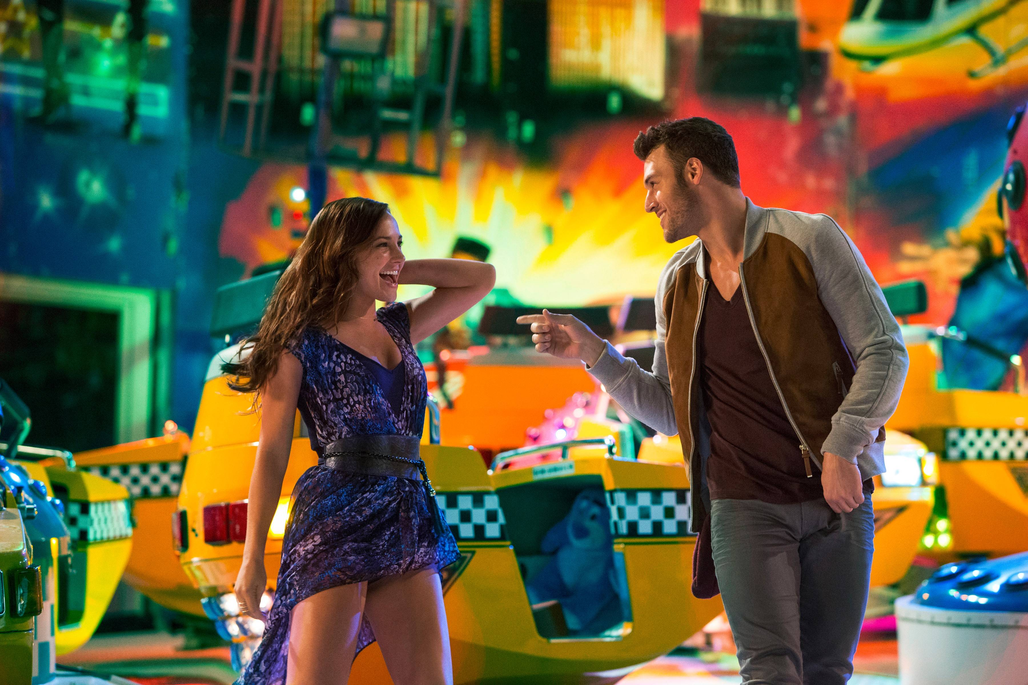 "Andi (Briana Evigan) and Sean (Ryan Guzman) team up for a big dance competition in ""Step Up All In."""