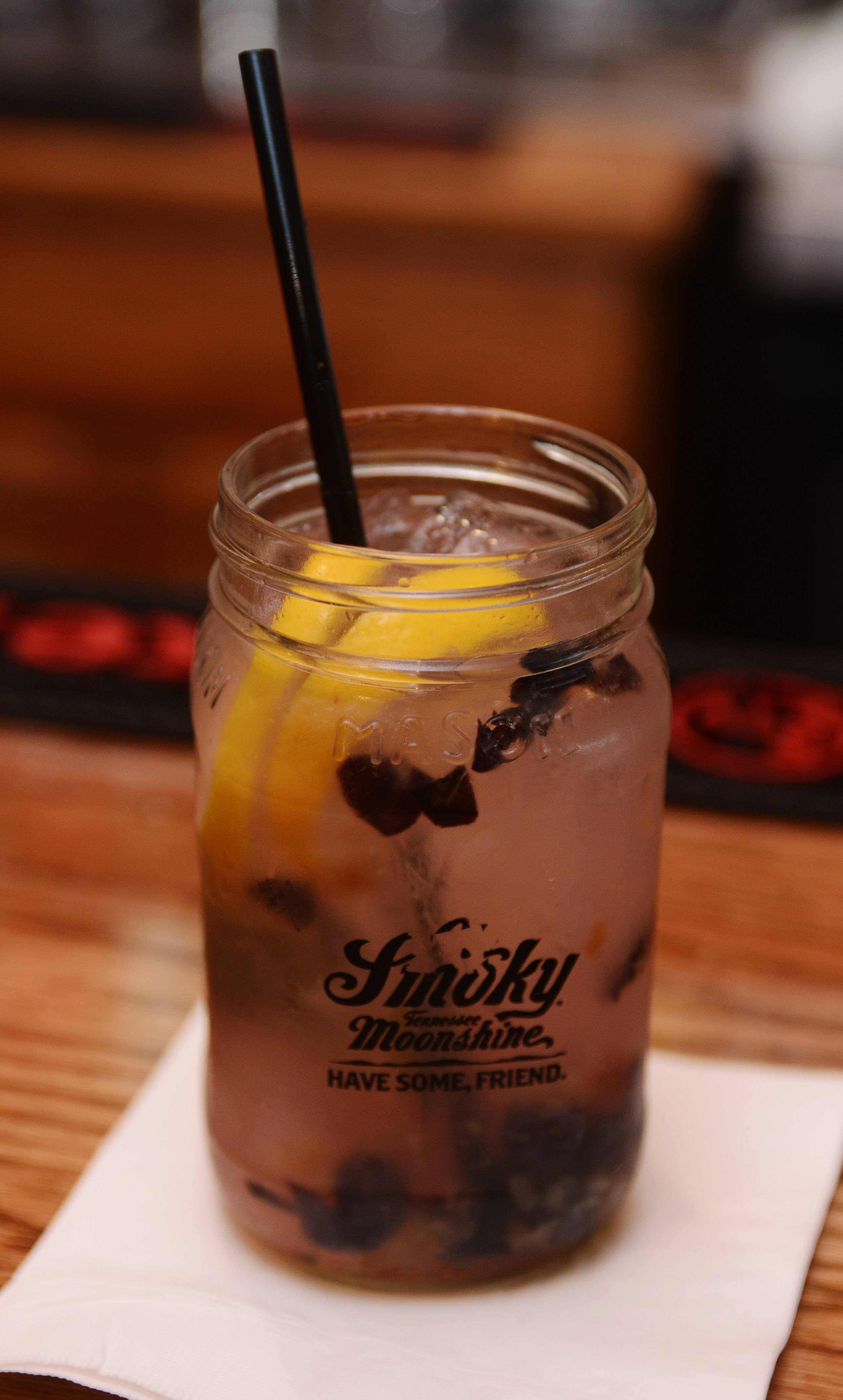 The Bees Knees is one of the prohibition-era moonshine cocktails at The Still Bar and Grill in Bartlett.