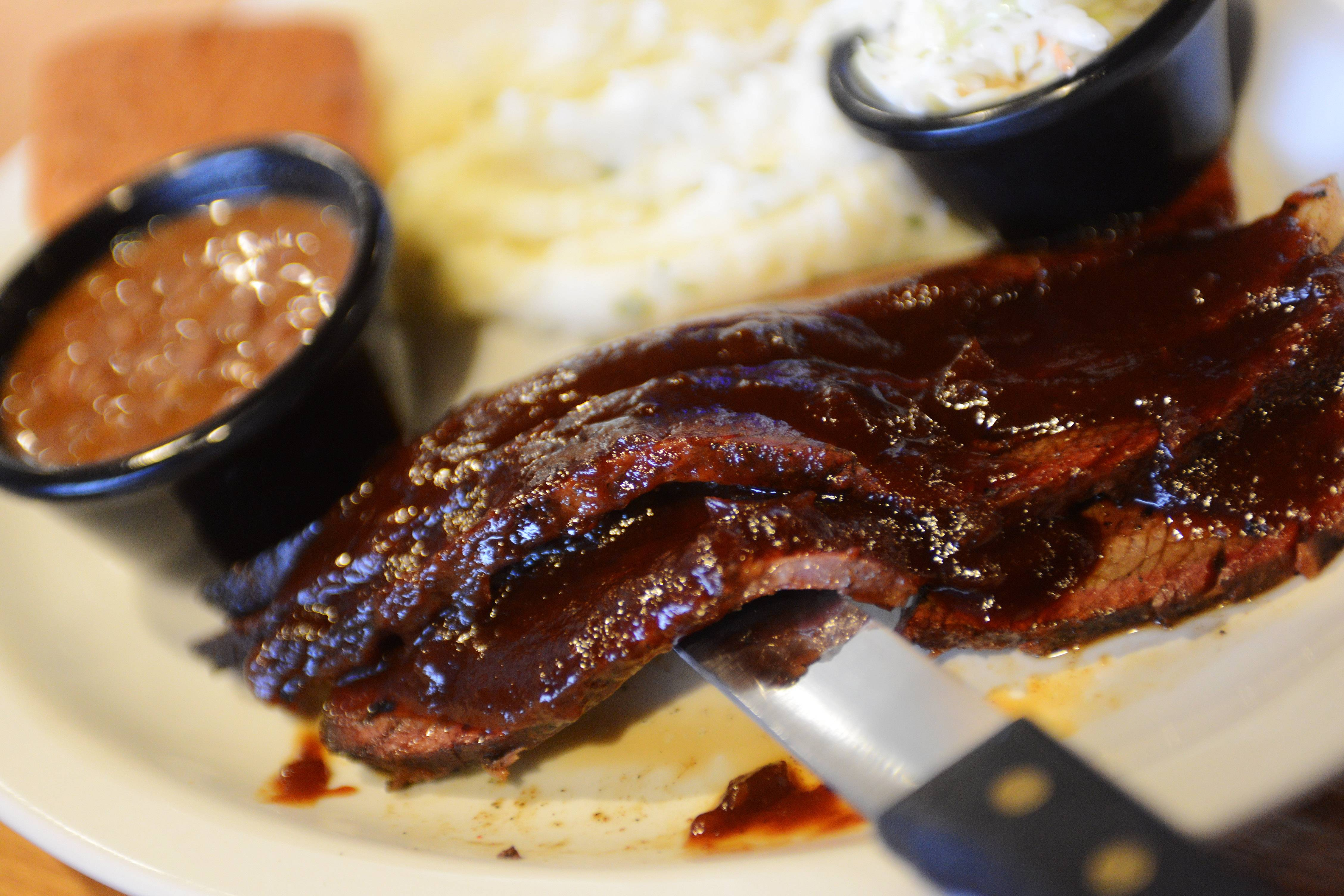 Beef brisket is one of the barbecue options at The Still Bar and Grill in Bartlett.