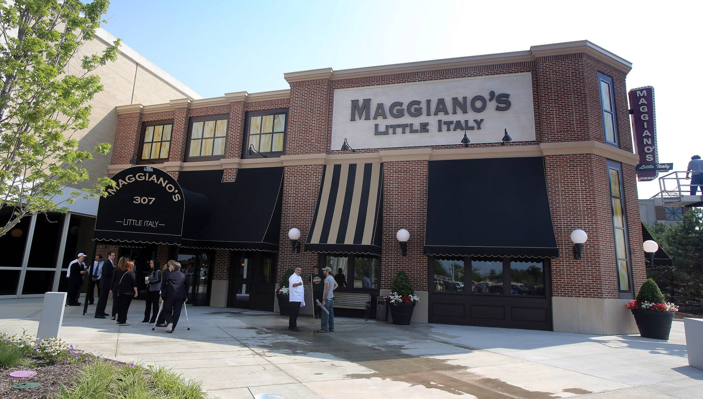 Maggiano's Little Italy opened last month at Westfield Hawthorn shopping center as part of a $50 million renovation and expansion. A home rule sales tax is expected to be implemented by the village, in part, to fund a $1.2 million annual sales tax rebate to Westfield.