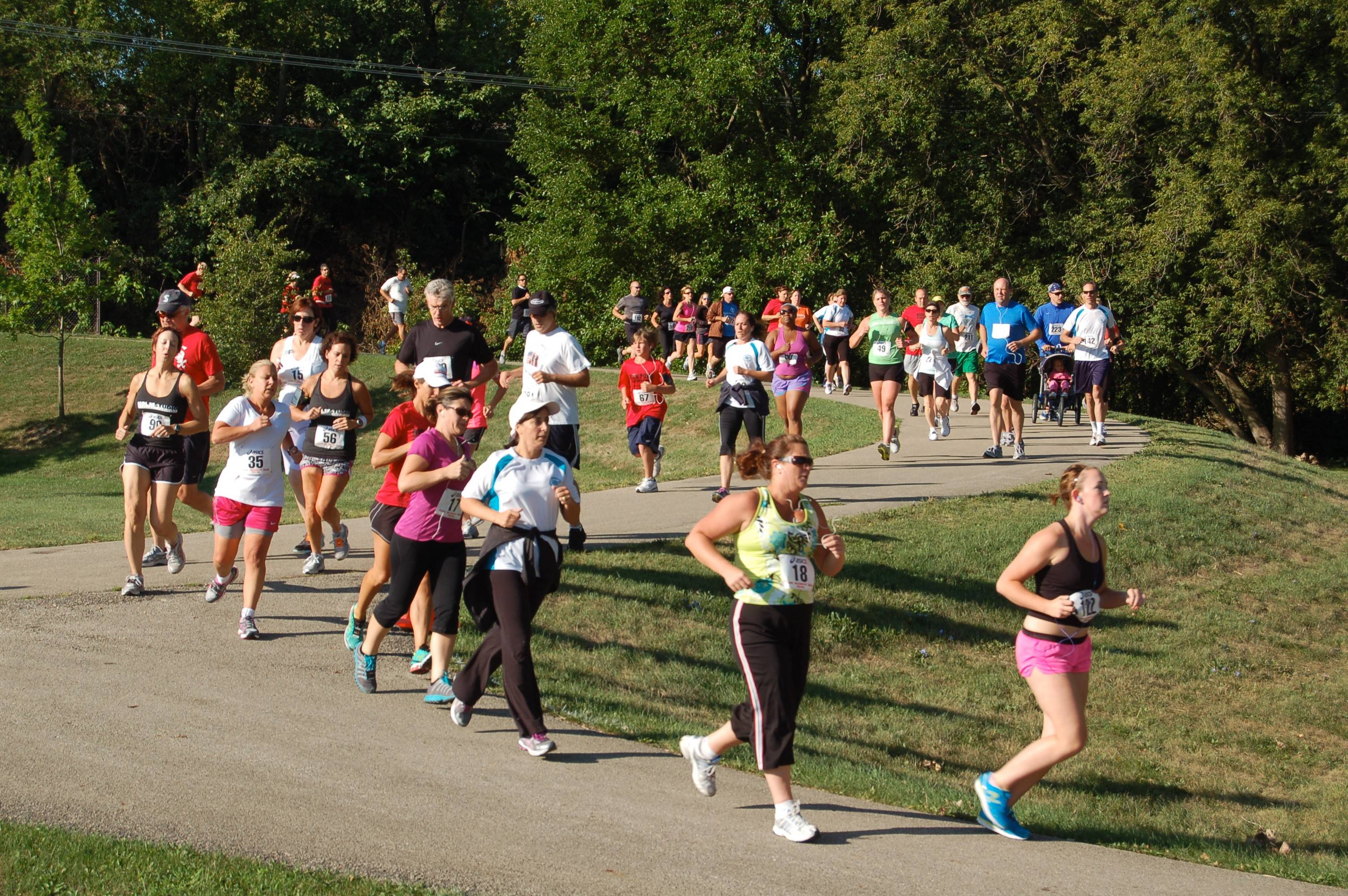 Runners will take off from Pottawatomie Park this Saturday at the eighth annual Bob Leonard River Run/Walk.