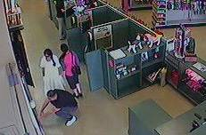 The owner of a Naperville Petland says these three people were the last ones seen with a 3-month-old boxer puppy taken from the store.