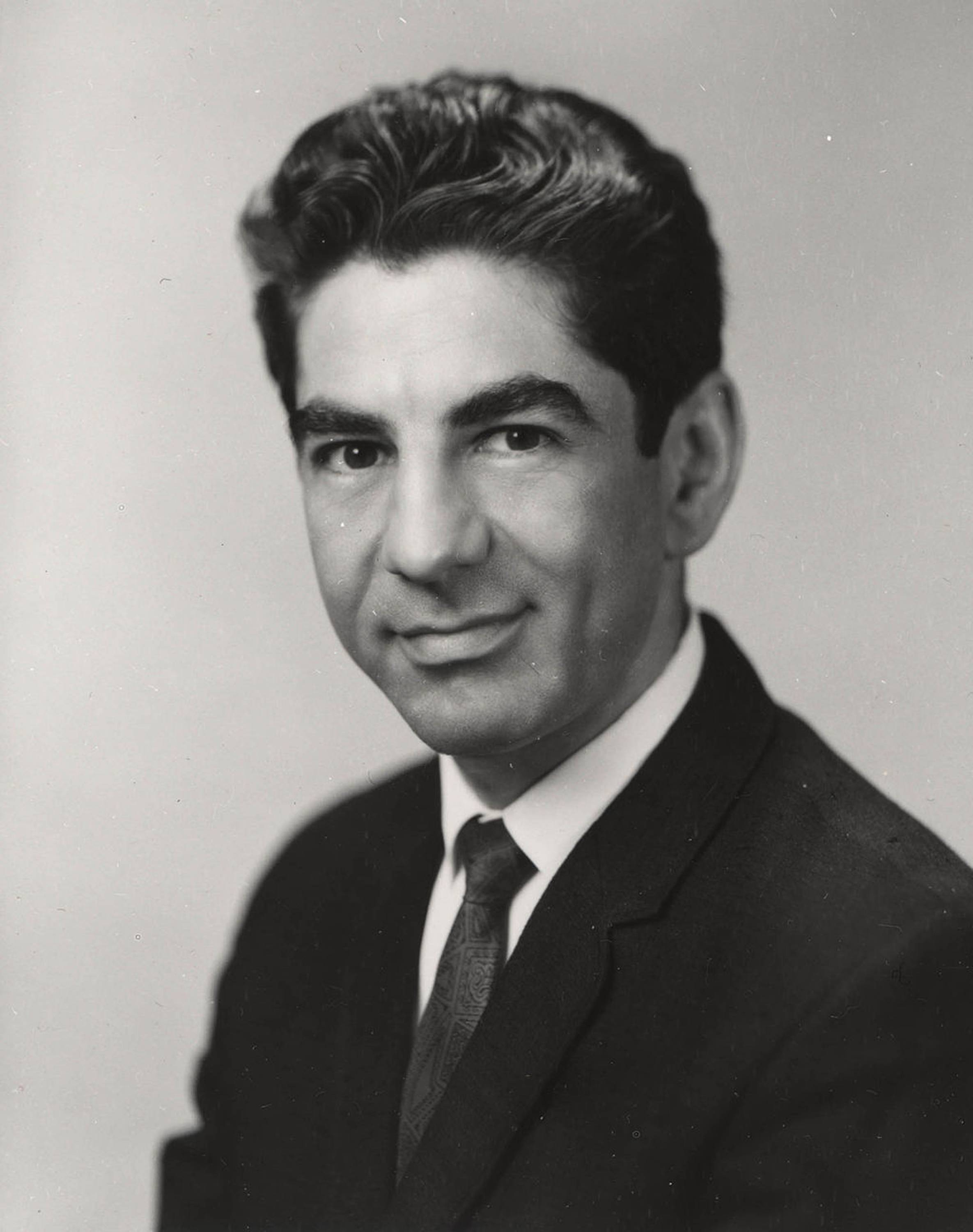 Former U.S. surgeon general Jesse Steinfeld.