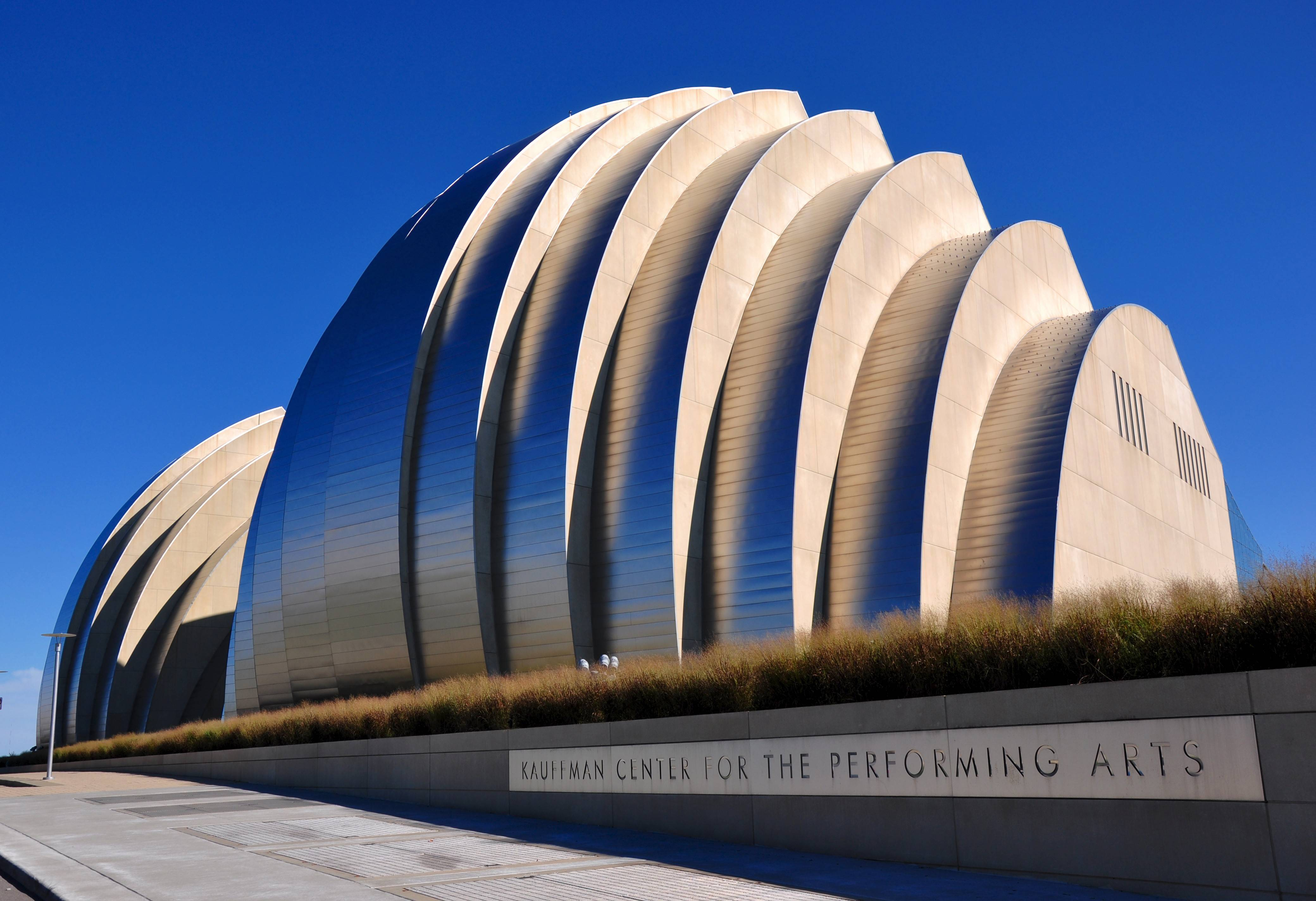 The Kauffman Center for the Performing Arts has been noted for its striking architecture. It's become an icon for Kansas City since its opening in 2011.