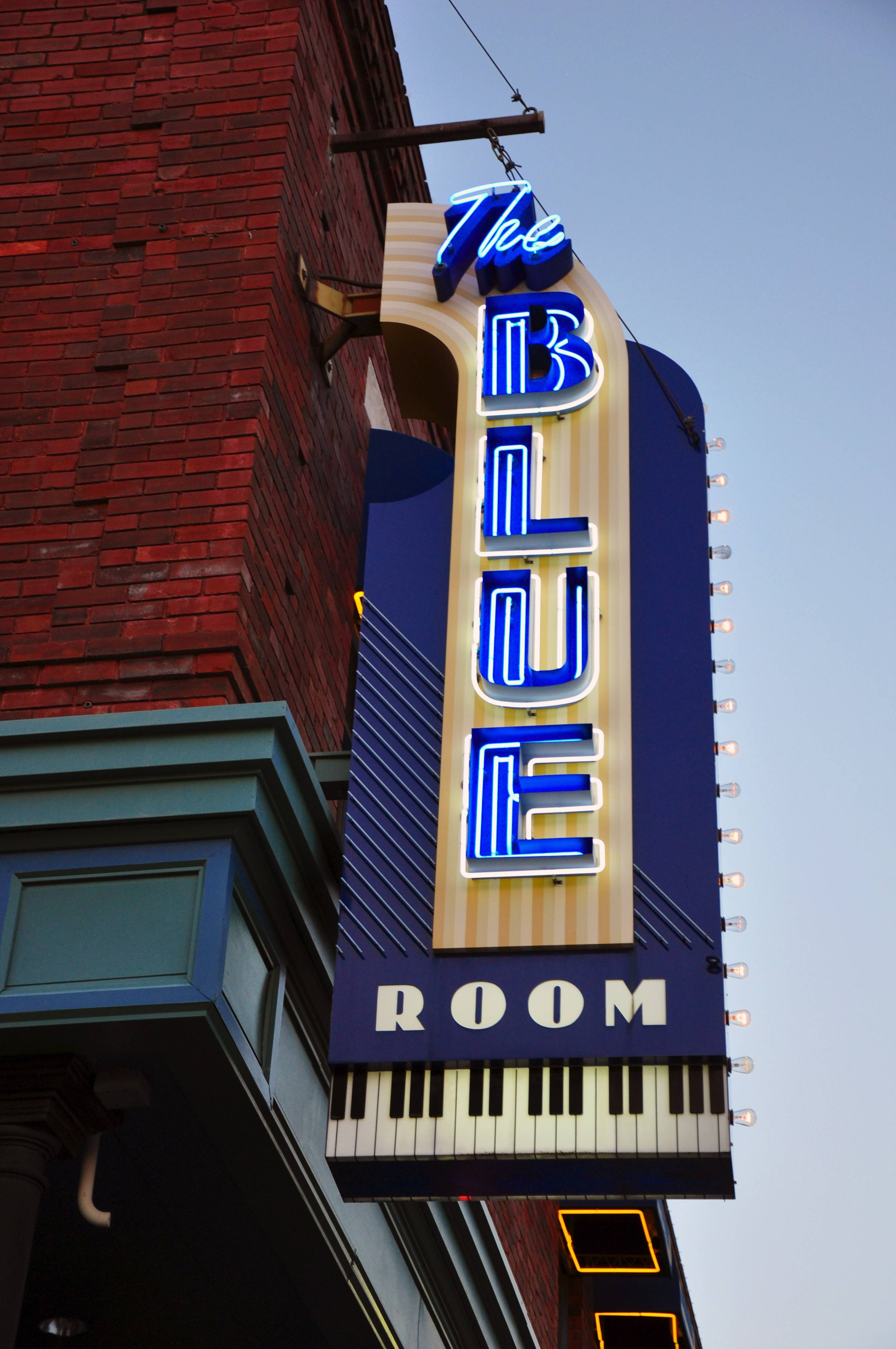 One of the most prominent jazz clubs in Kansas City, The Blue Room, is part of the American Jazz Museum in the 18th & Vine Historic Jazz District.