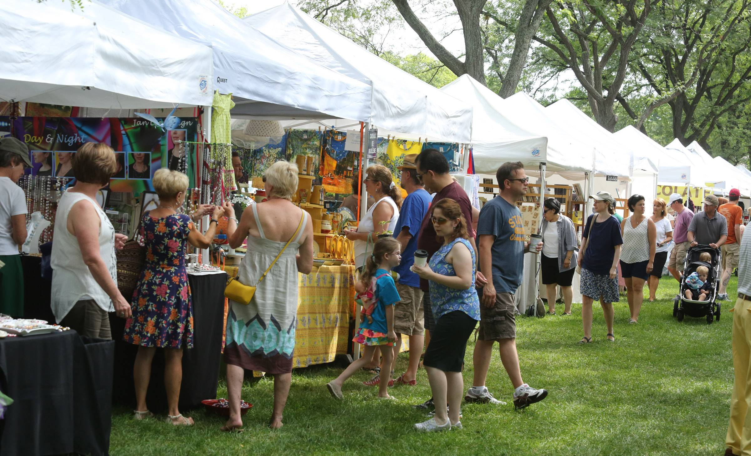 Vendors offered everything from French food to art to music on Sunday during the French Connection Day celebration at Cantigny Park in Wheaton.
