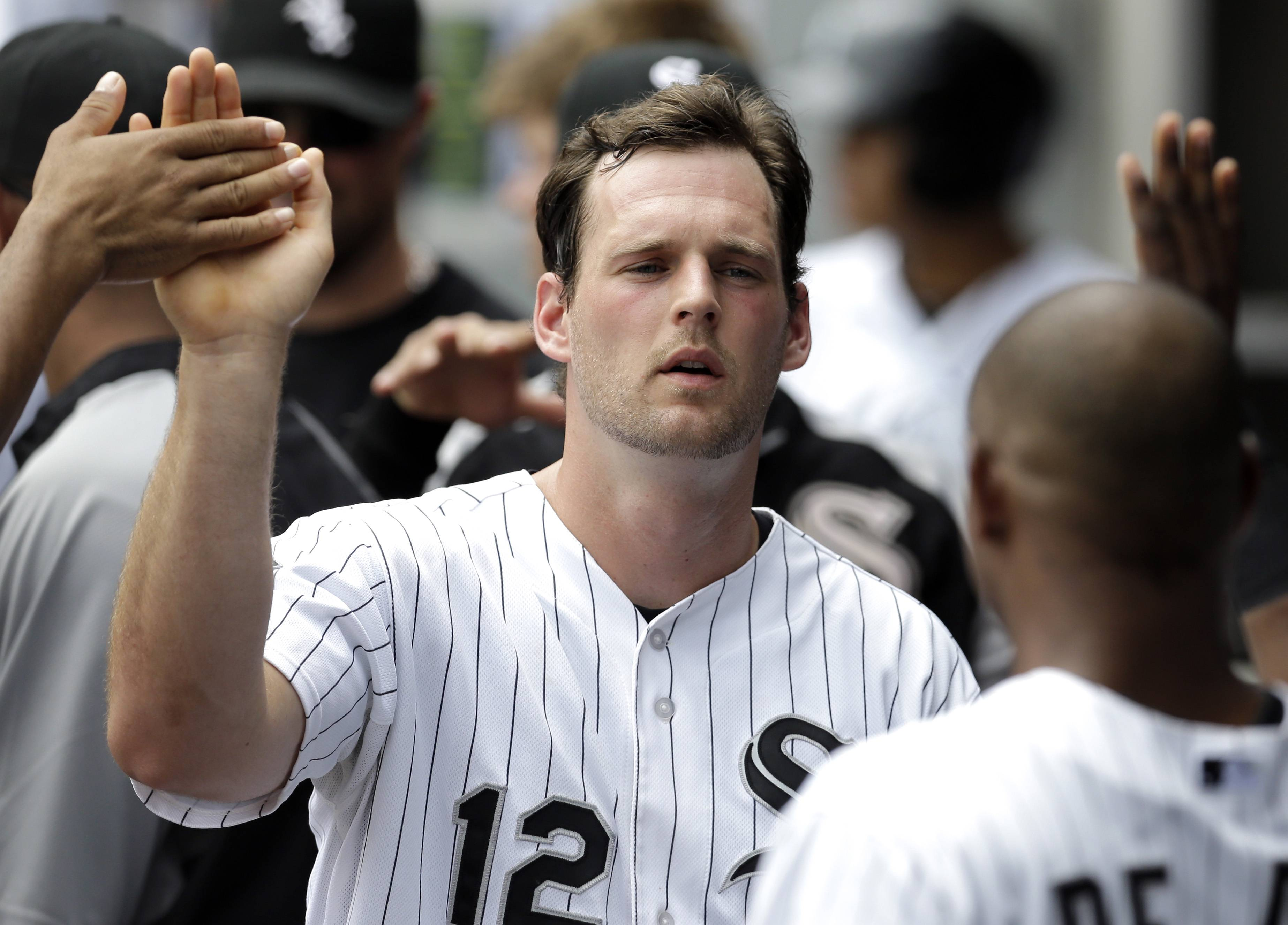After struggling in 2013, Conor Gillaspie's batting average has stayed above .300 all season, and the White Sox third baseman is hitting .370 with runners on base.