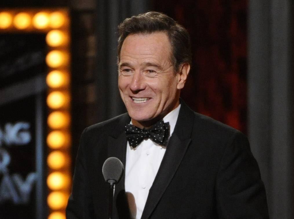 Bryan Cranston will be a presenter for the Emmy Awards on Aug. 25.