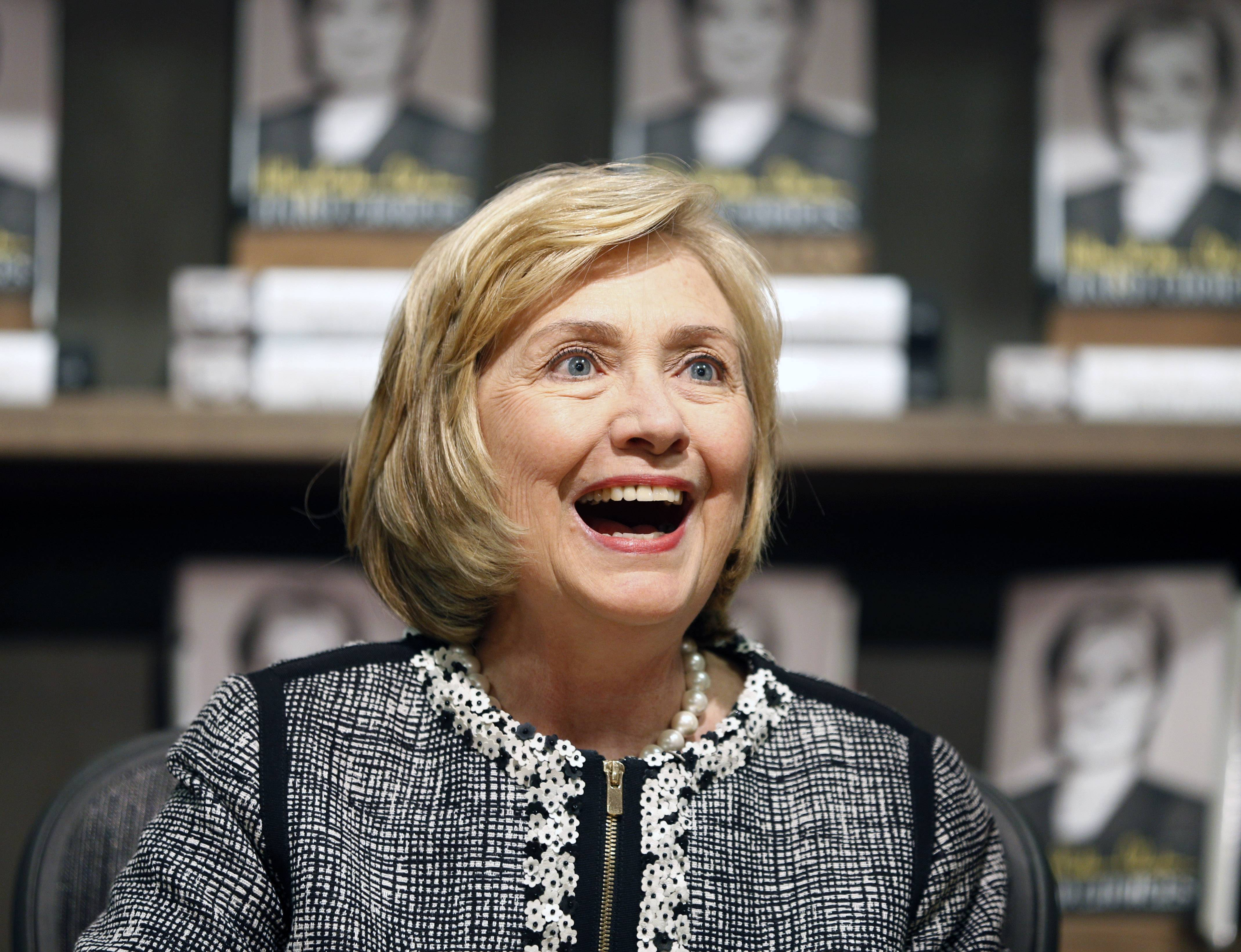 "Former Secretary of State Hillary Rodham Clinton rebuked President Barack Obama for his cautious approach to global crises and sayid foreign policy has to go beyond ""don't do stupid stuff."""